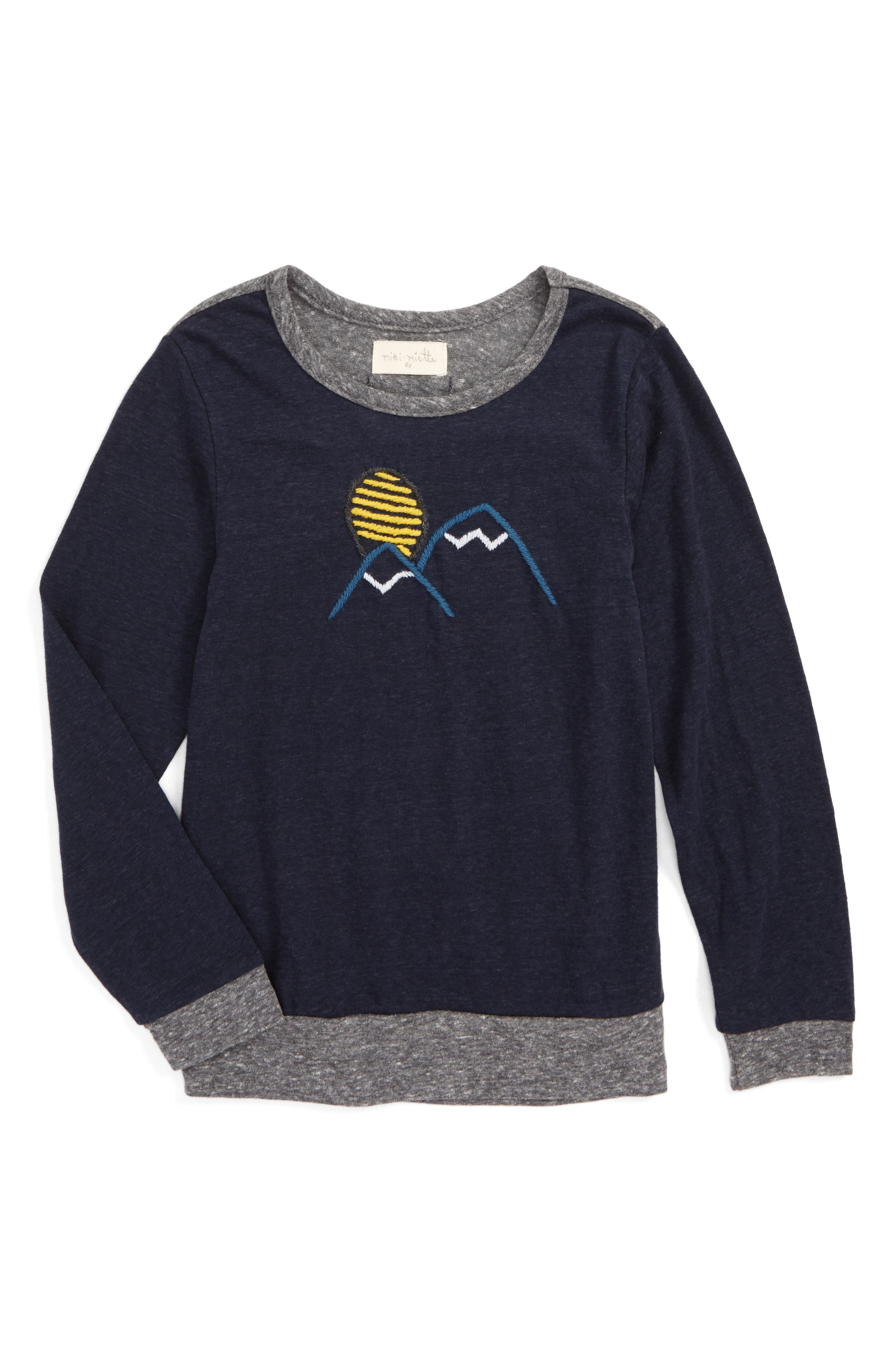 Alternate Image 1 Selected - Miki Miette Sam Embroidered T-Shirt (Toddler Boys, Little Boys & Big Boys)