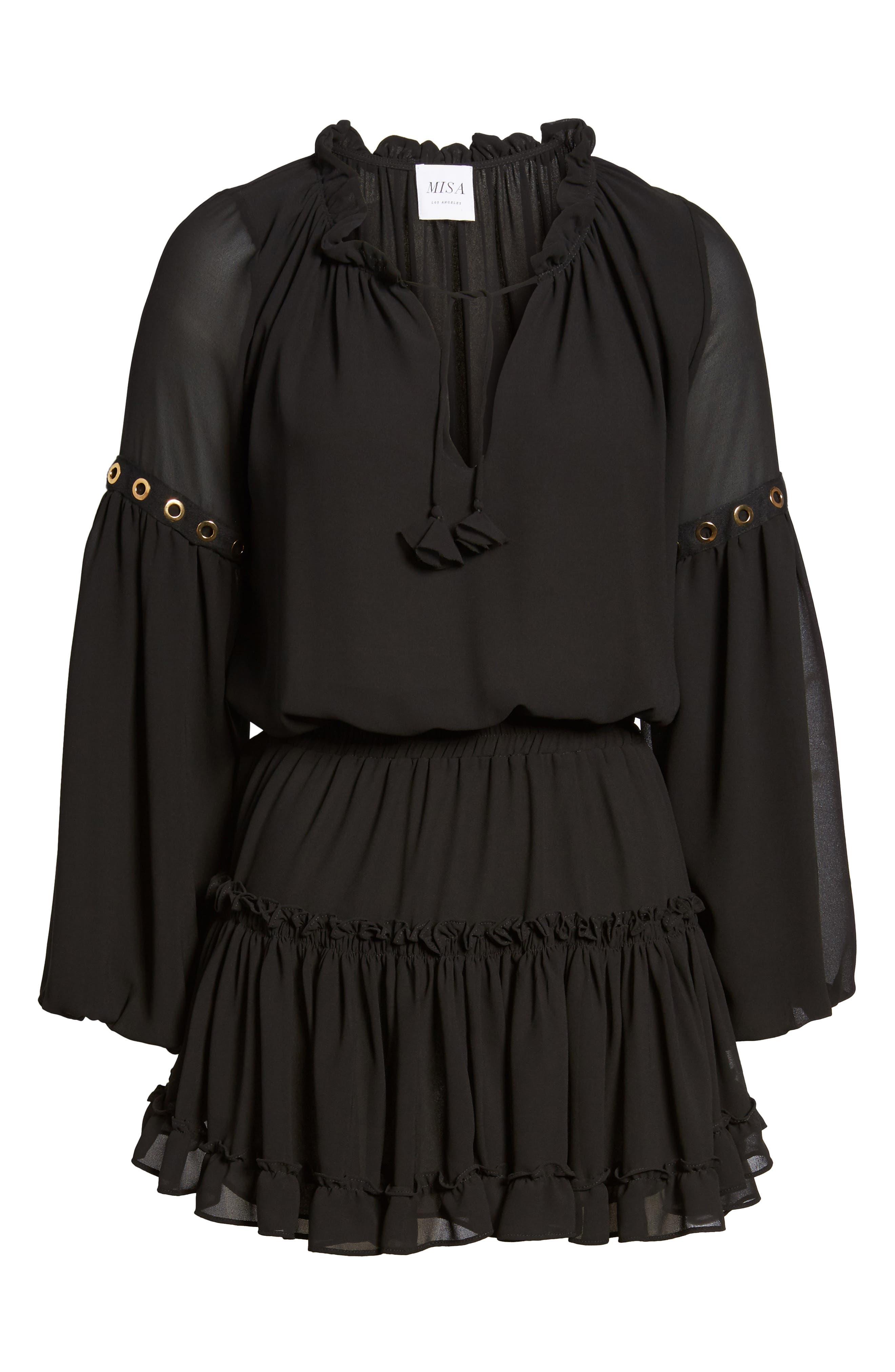 Alternate Image 5  - MISA Los Angeles Danai Dress