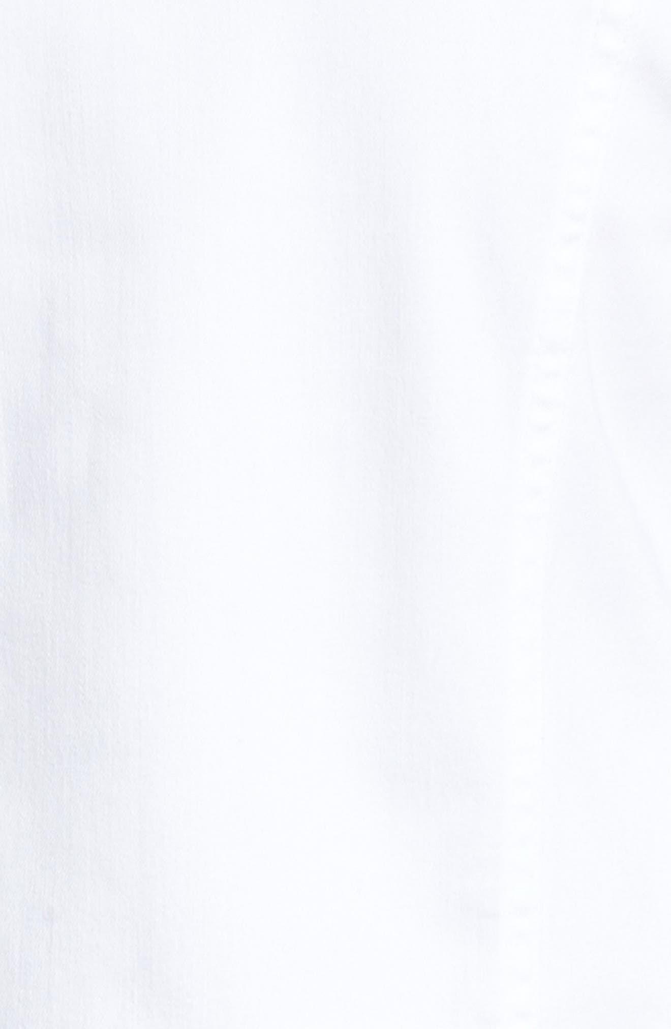 'Robyn' Denim Jacket,                             Alternate thumbnail 6, color,                             White
