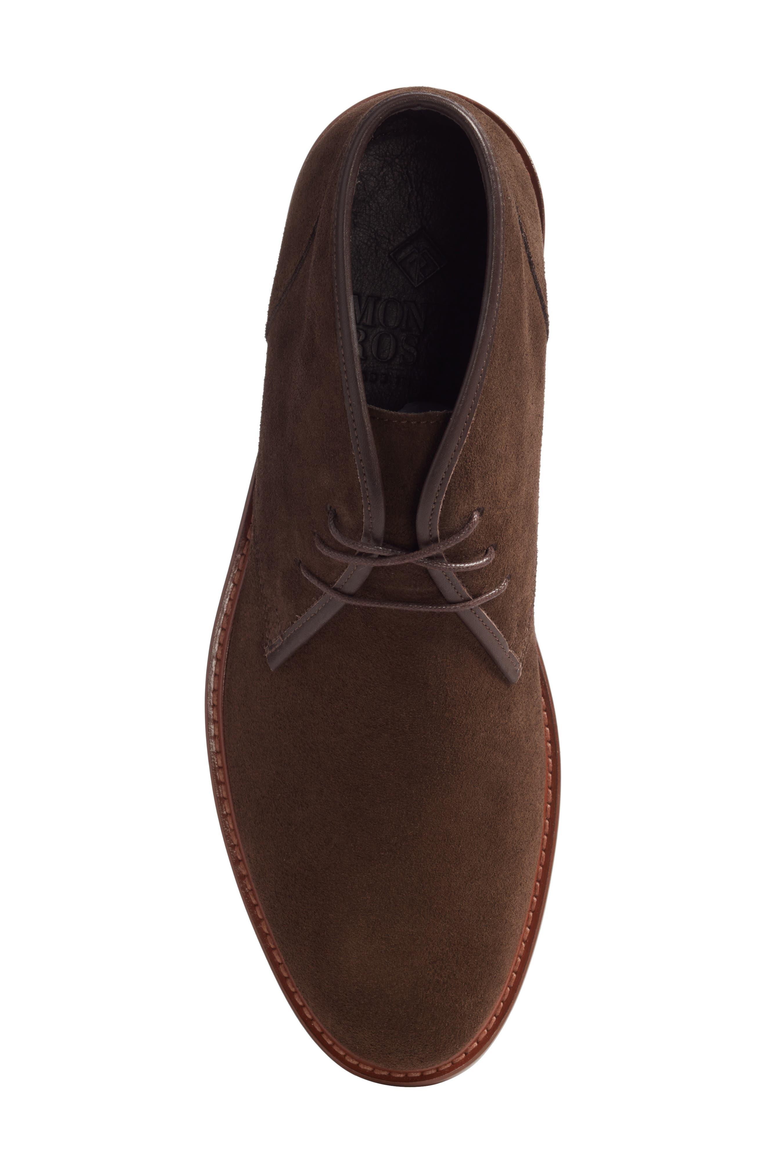 Brixen Waterproof Chukka Boot,                             Alternate thumbnail 5, color,                             Brown Suede