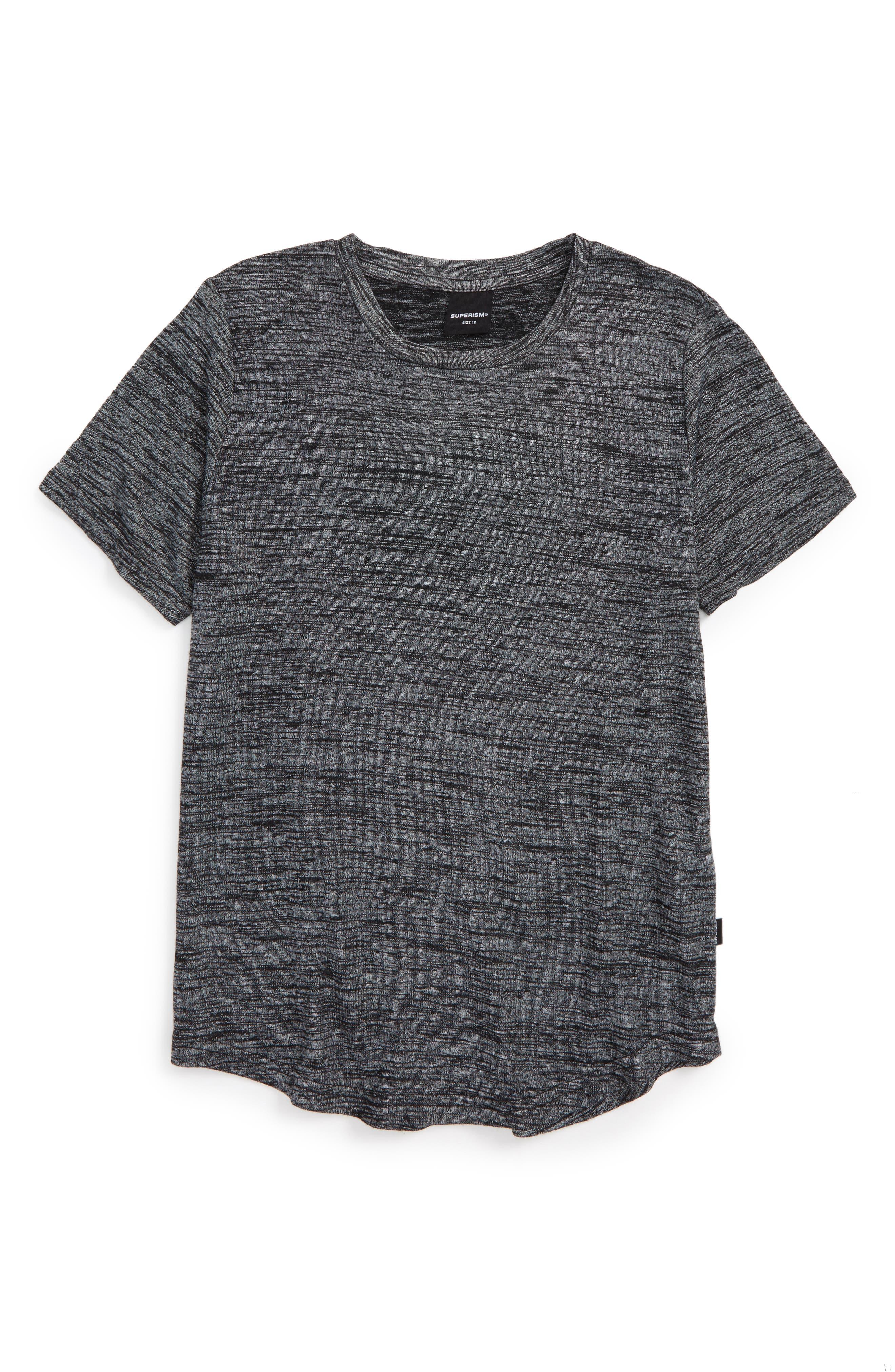 Main Image - Superism Landon Heathered T-Shirt (Big Boys)