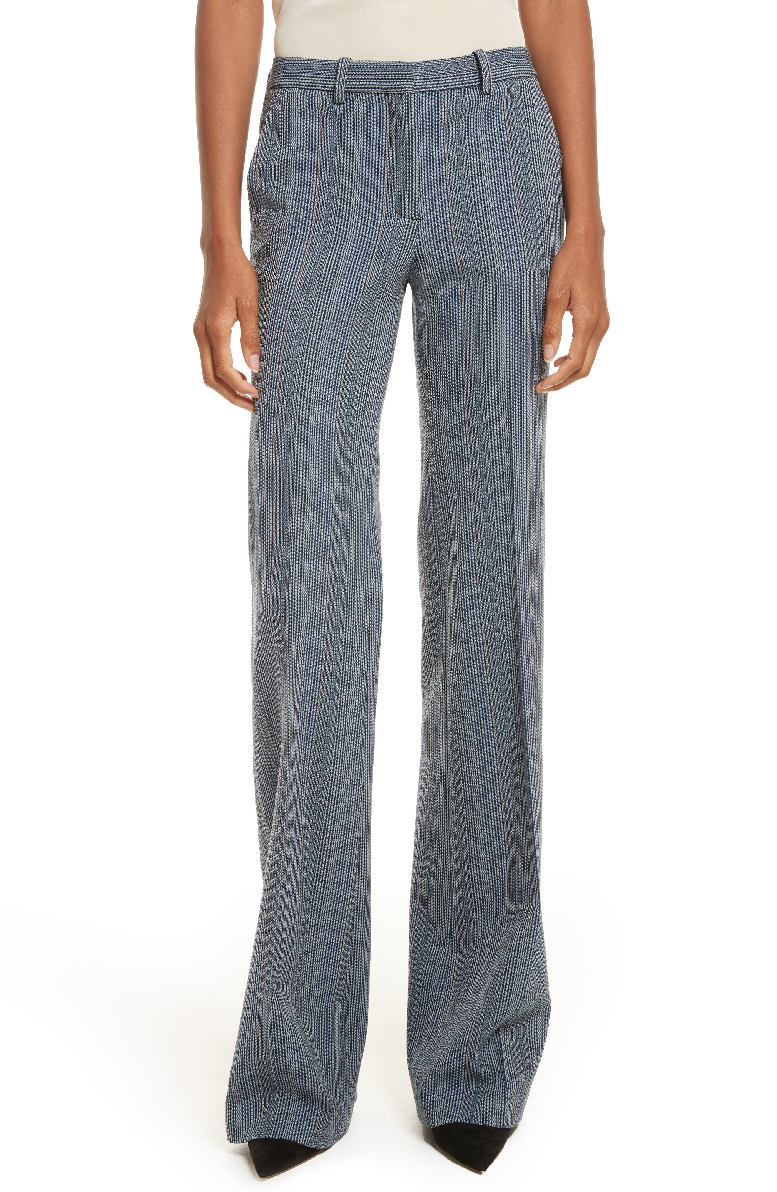 Demitria 2 Eldora Stripe Pants,                             Main thumbnail 1, color,                             Indigo Multi