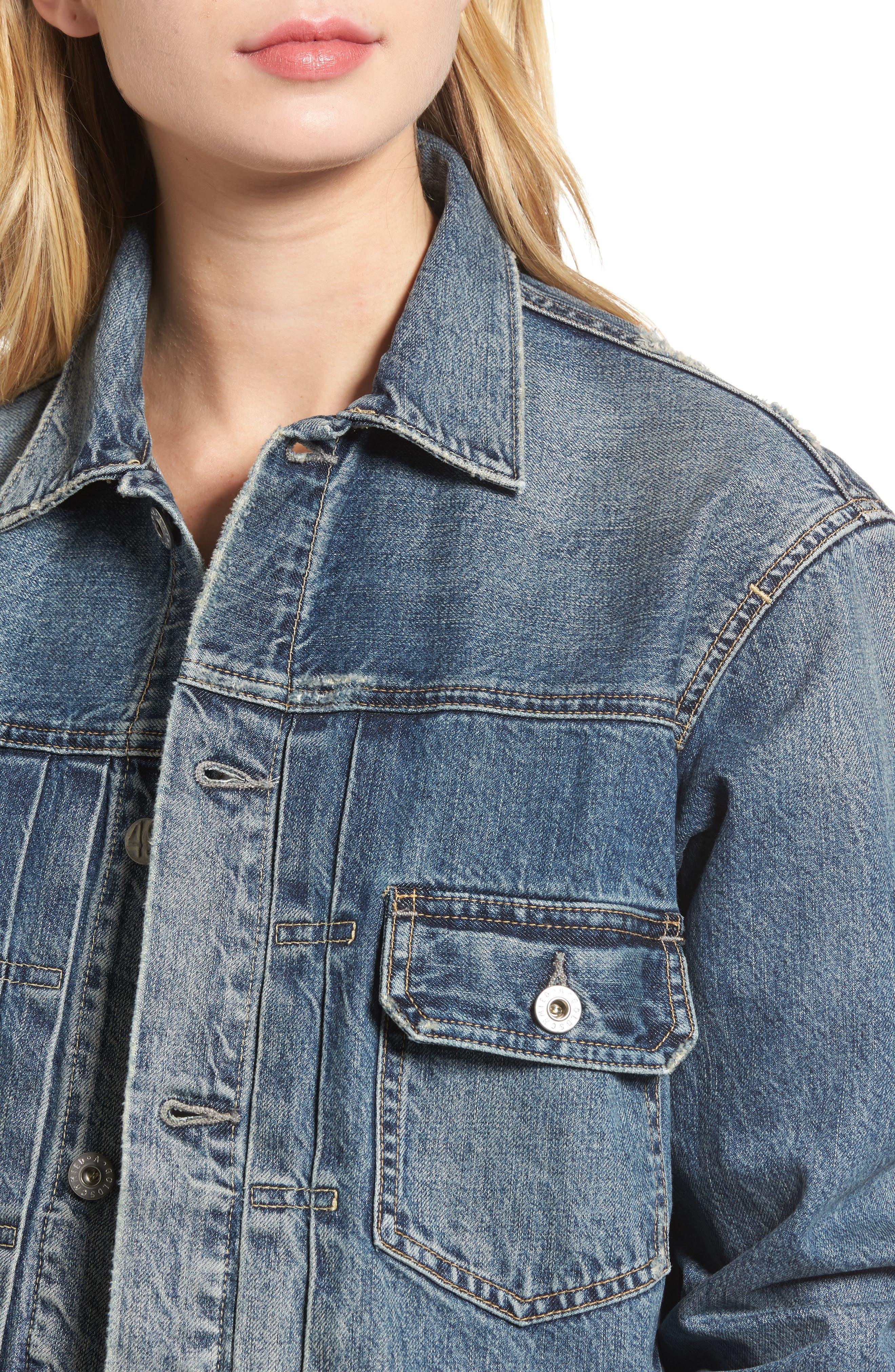 Alternate Image 4  - AG Cassie Denim Jacket