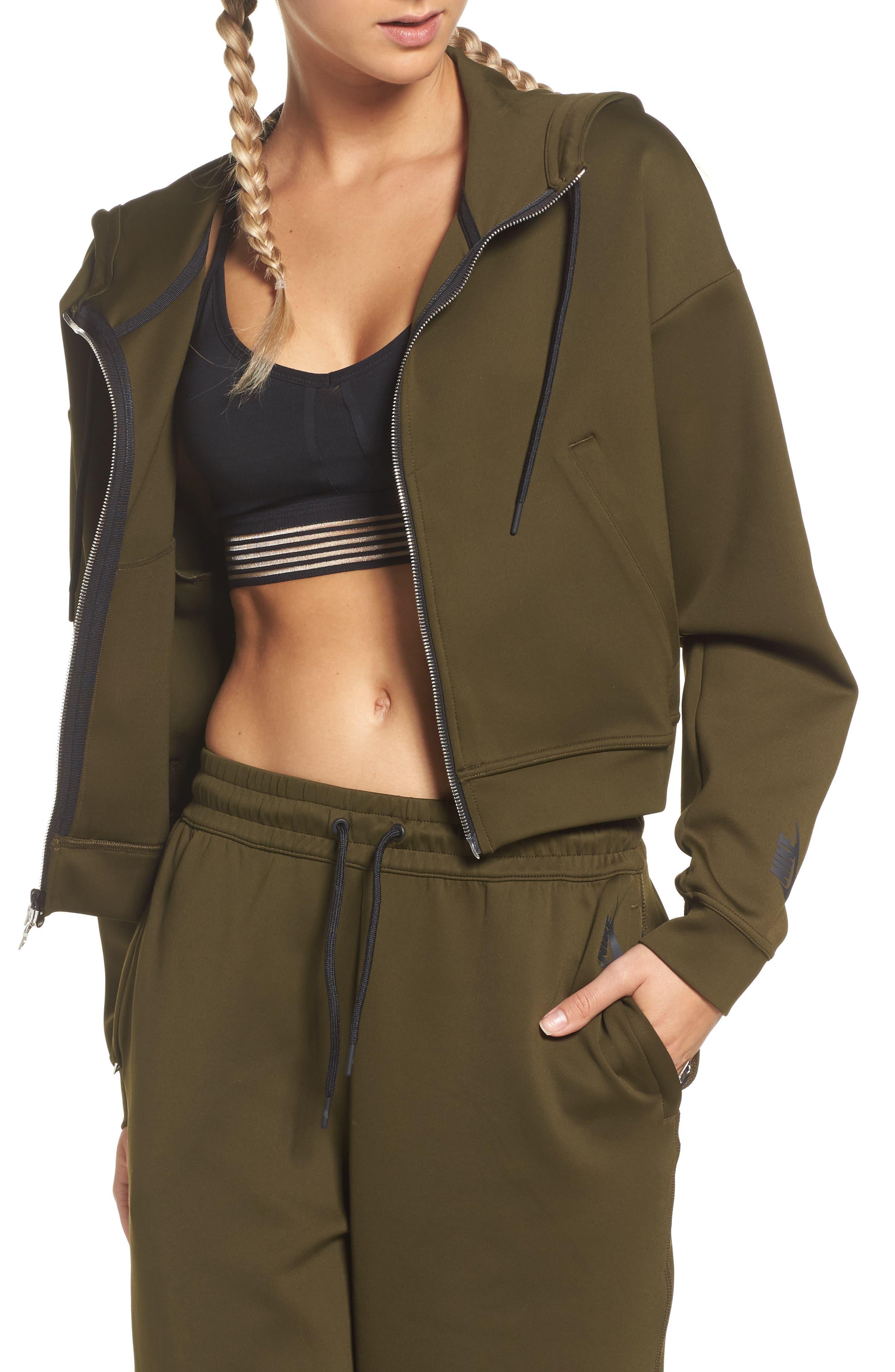 Nike Essential Cropped Hoodie