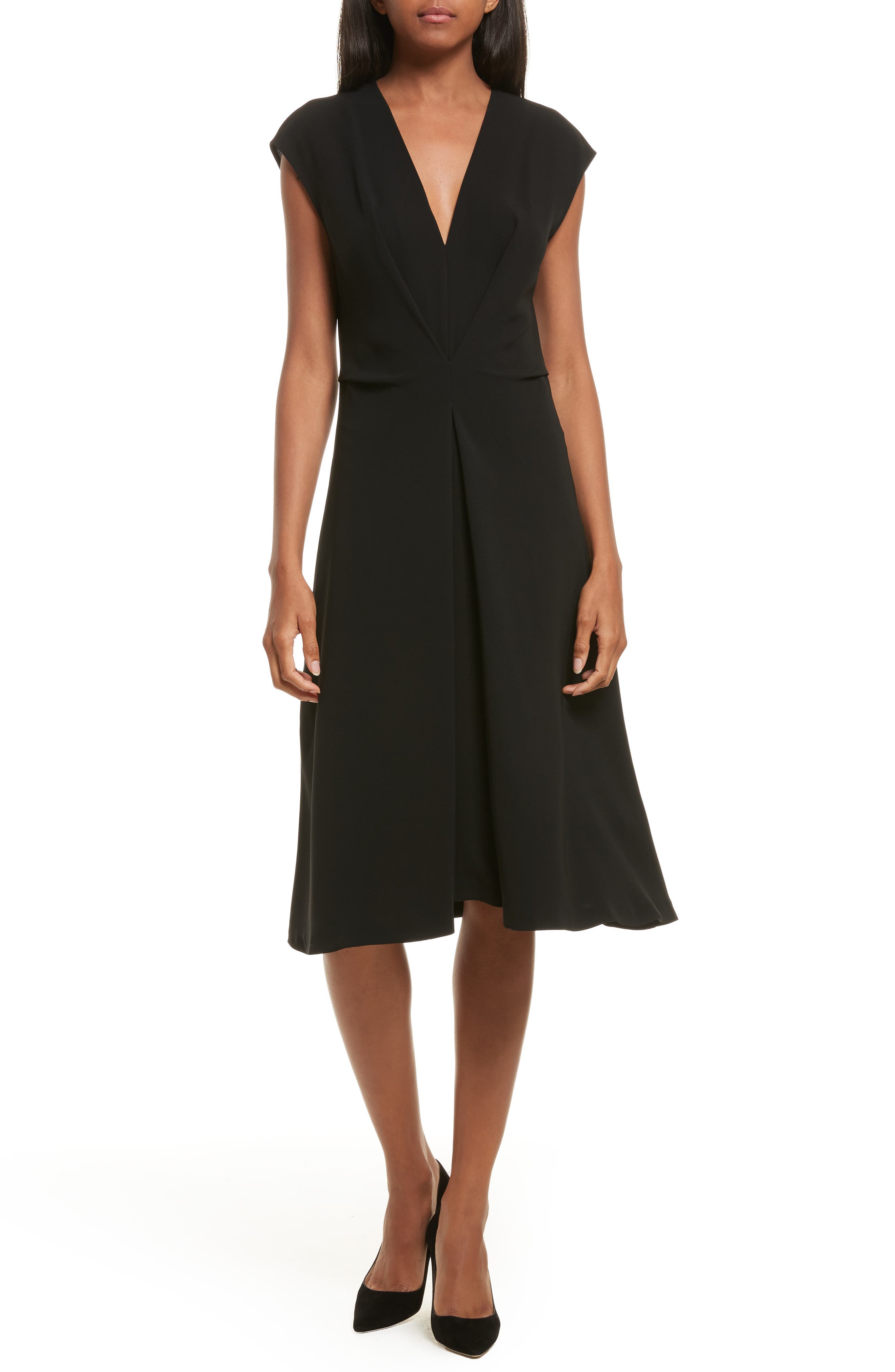 Theory Admiral Crepe A-Line Dress