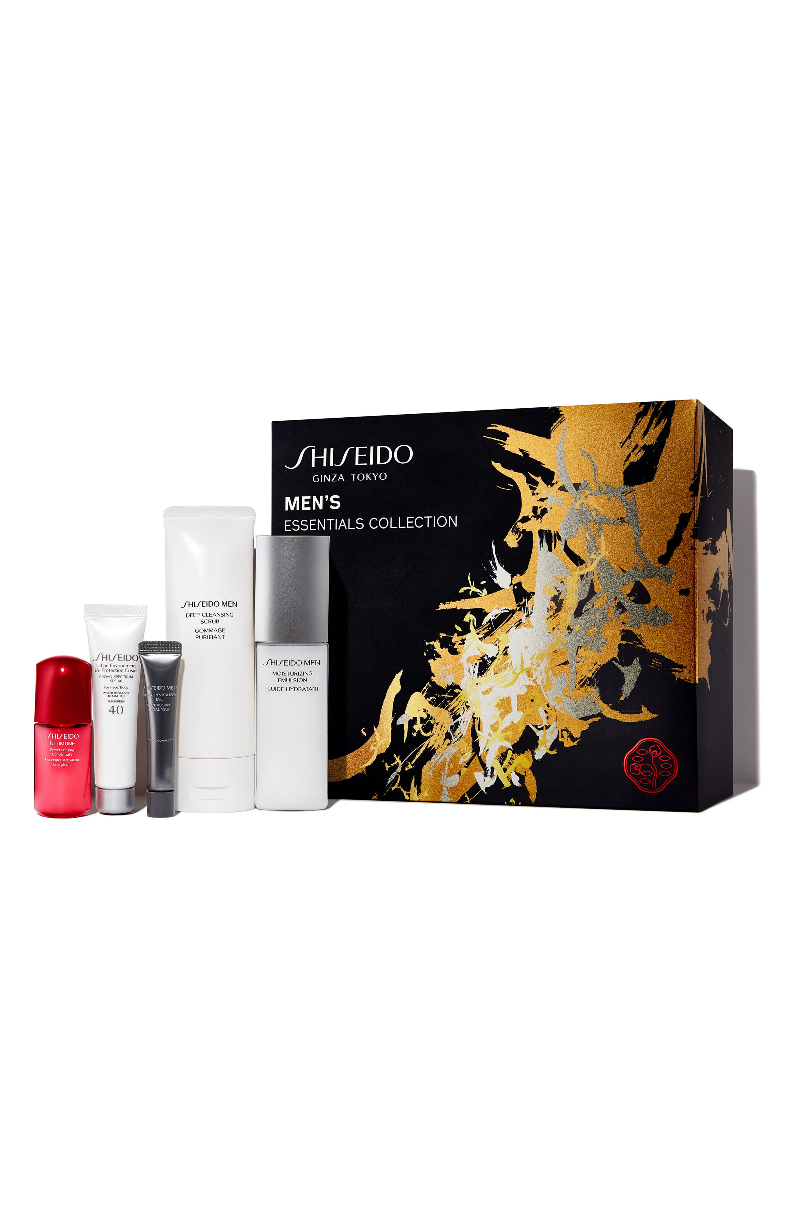 Alternate Image 1 Selected - Shiseido Men's Essentials Collection ($108 Value)