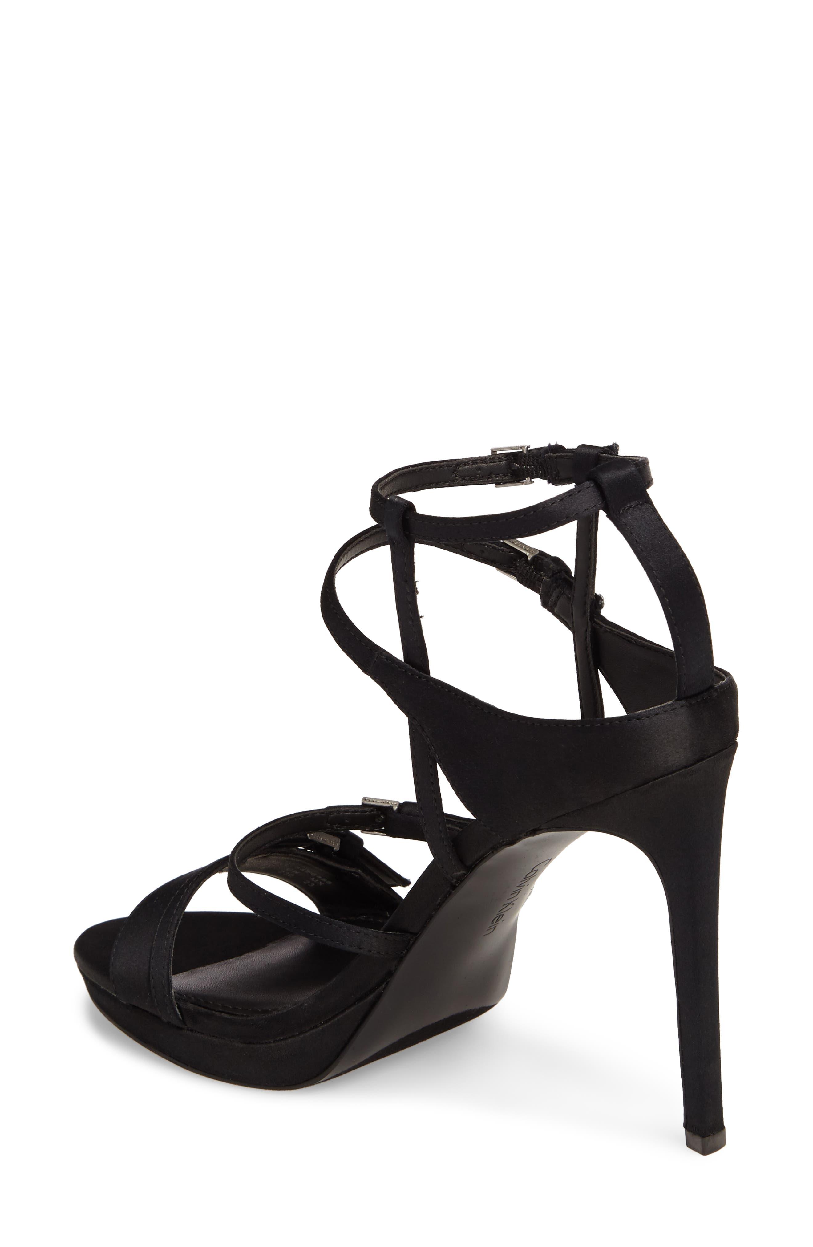 Alternate Image 2  - Calvin Klein Shantell Strappy Platform Sandal (Women)