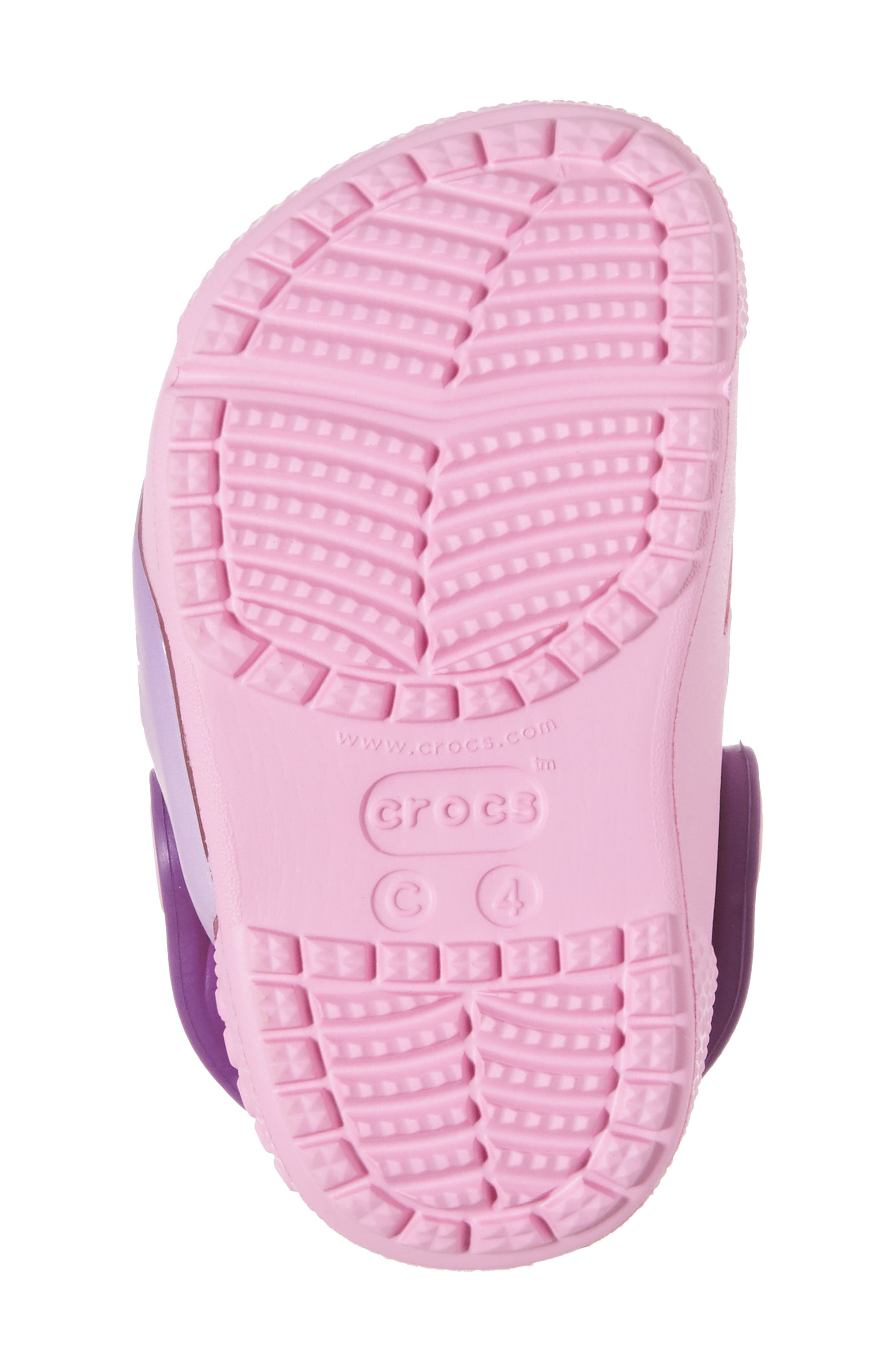 Fun ab Lights Disney<sup>®</sup> Princesses Light-Up Slip-On,                             Alternate thumbnail 6, color,                             Amethyst
