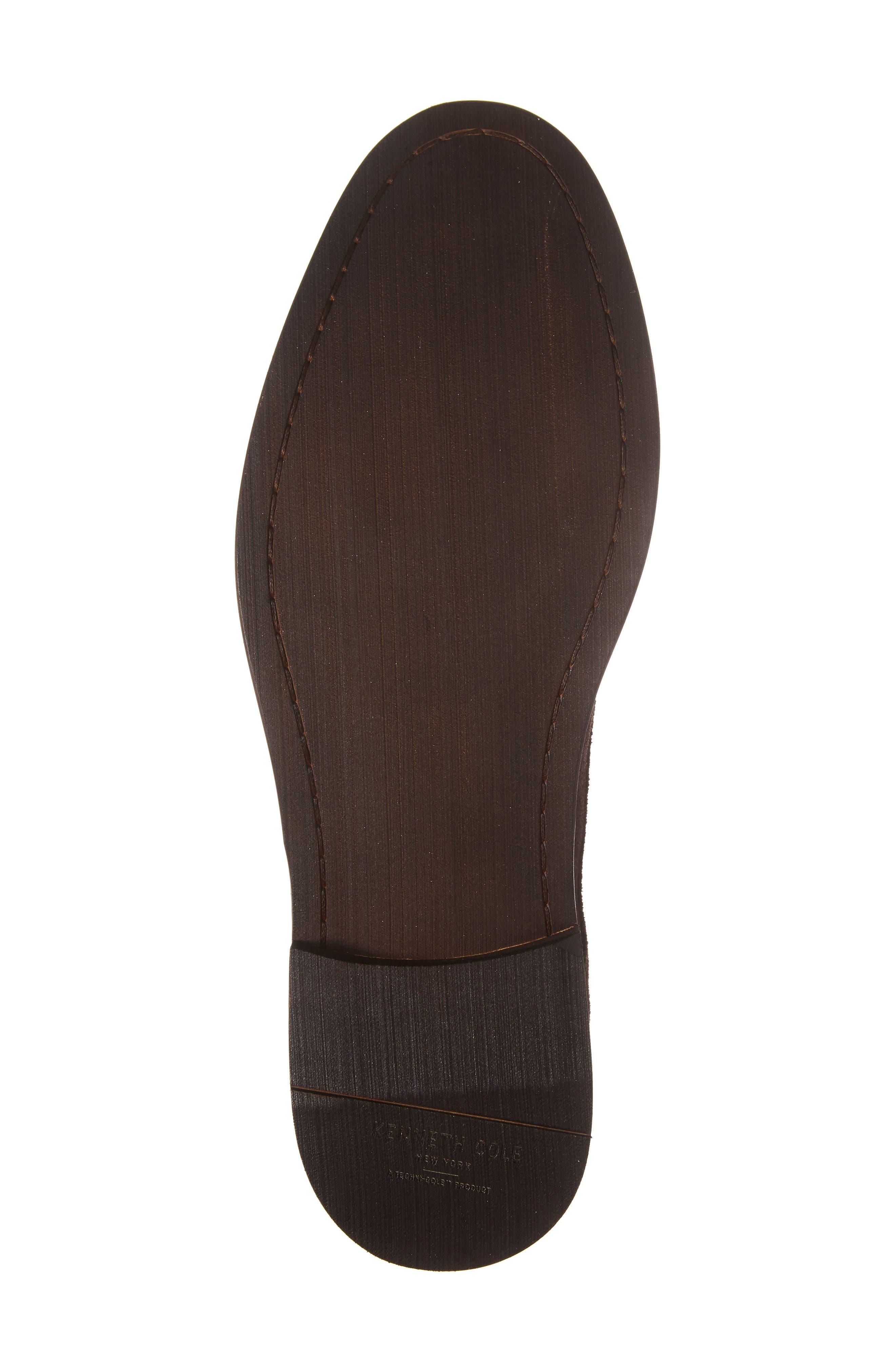 Buck Shoe,                             Alternate thumbnail 6, color,                             Chocolate Suede