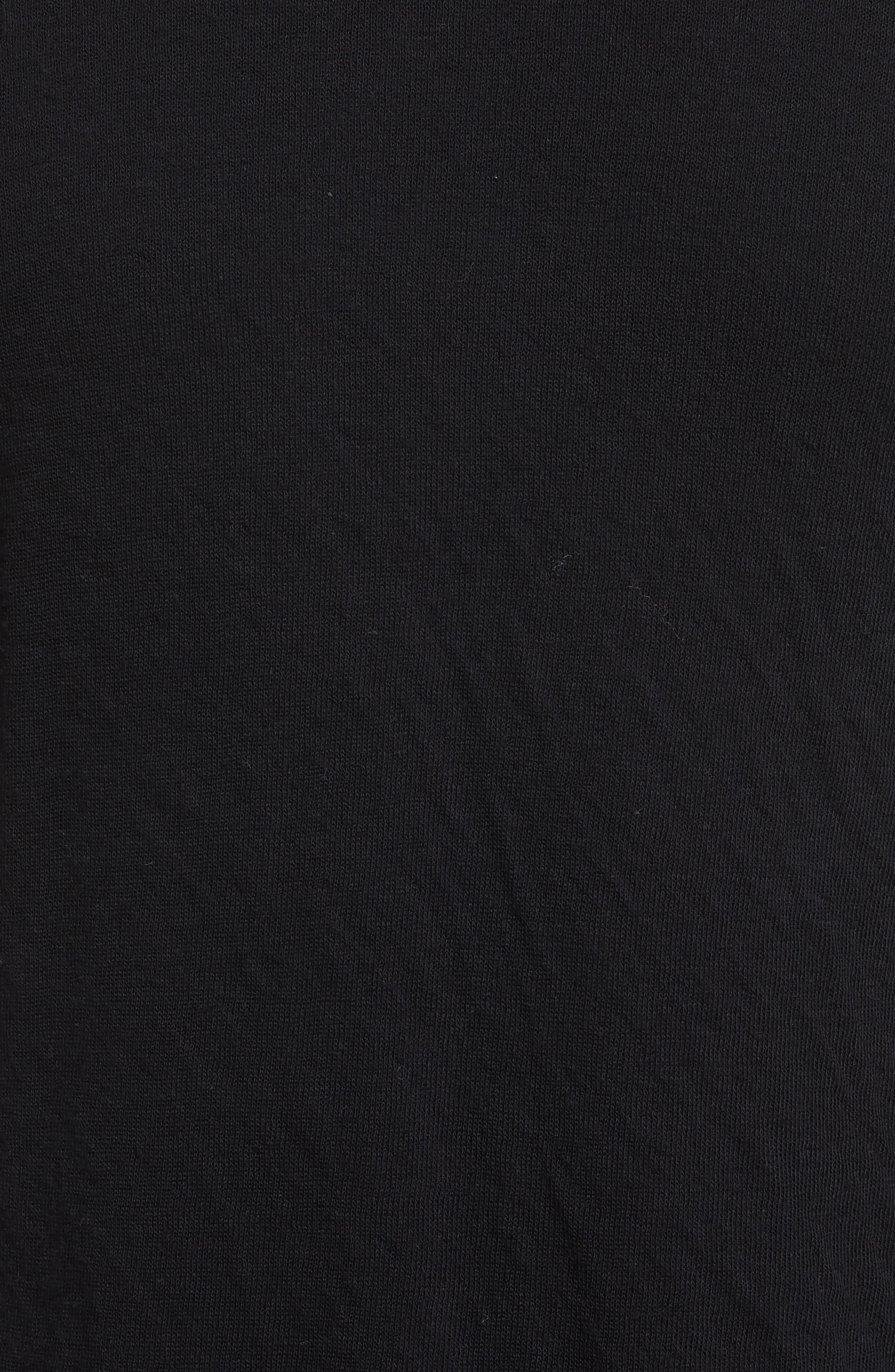 Tripp Crewneck Sweater,                             Alternate thumbnail 5, color,                             Black