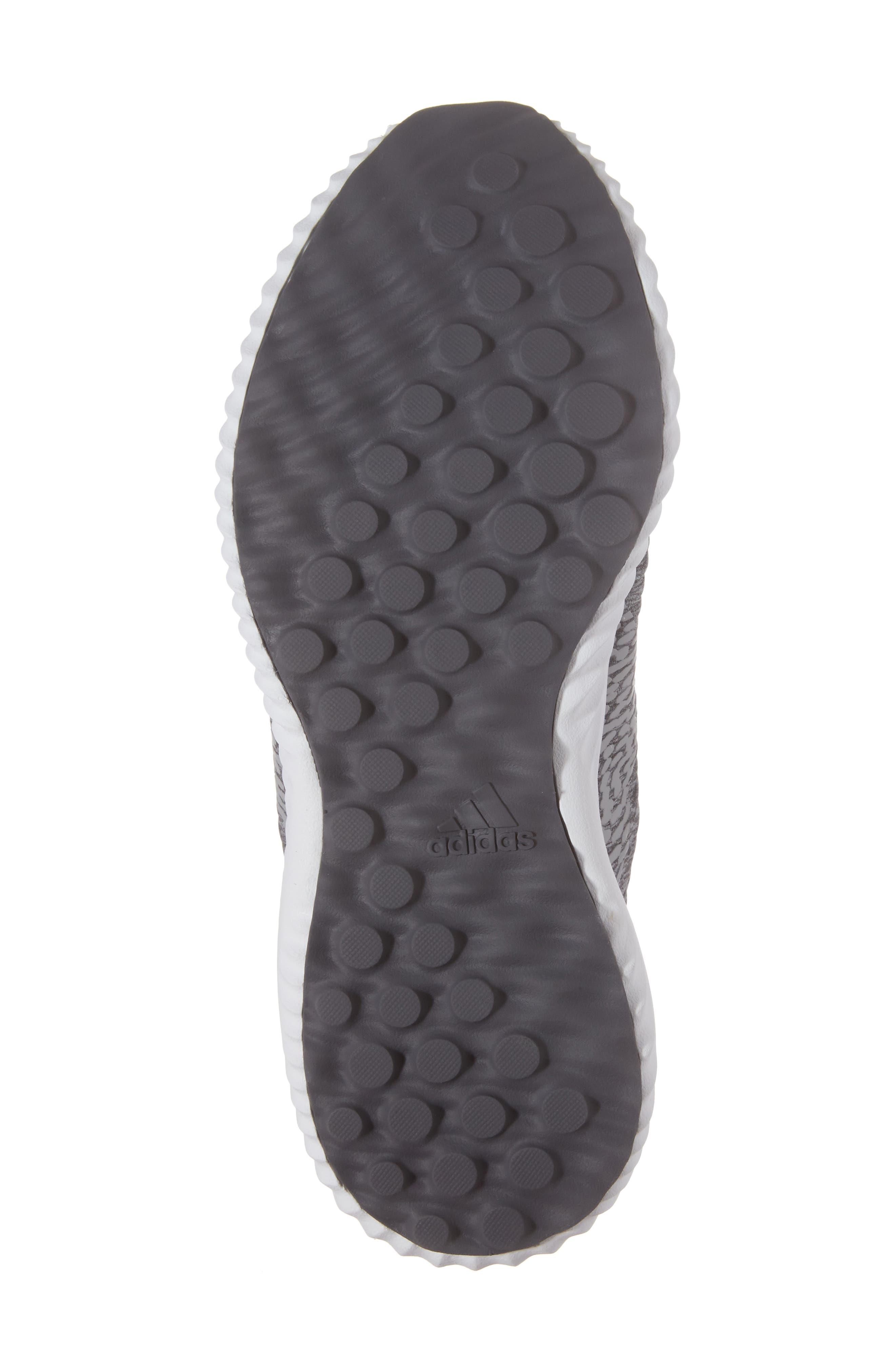 AlphaBounce Sneaker,                             Alternate thumbnail 6, color,                             Medium Grey Heather