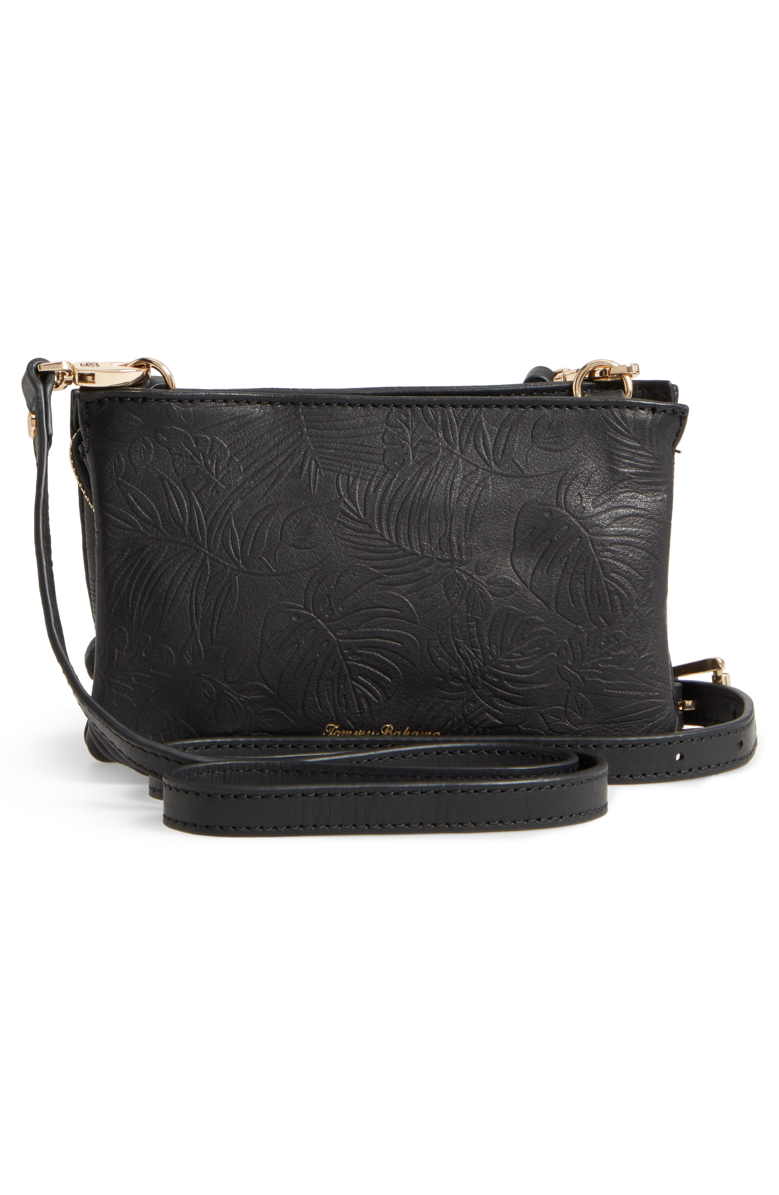Alternate Image 3  - Tommy Bahama Marrakech Leather Crossbody Wallet