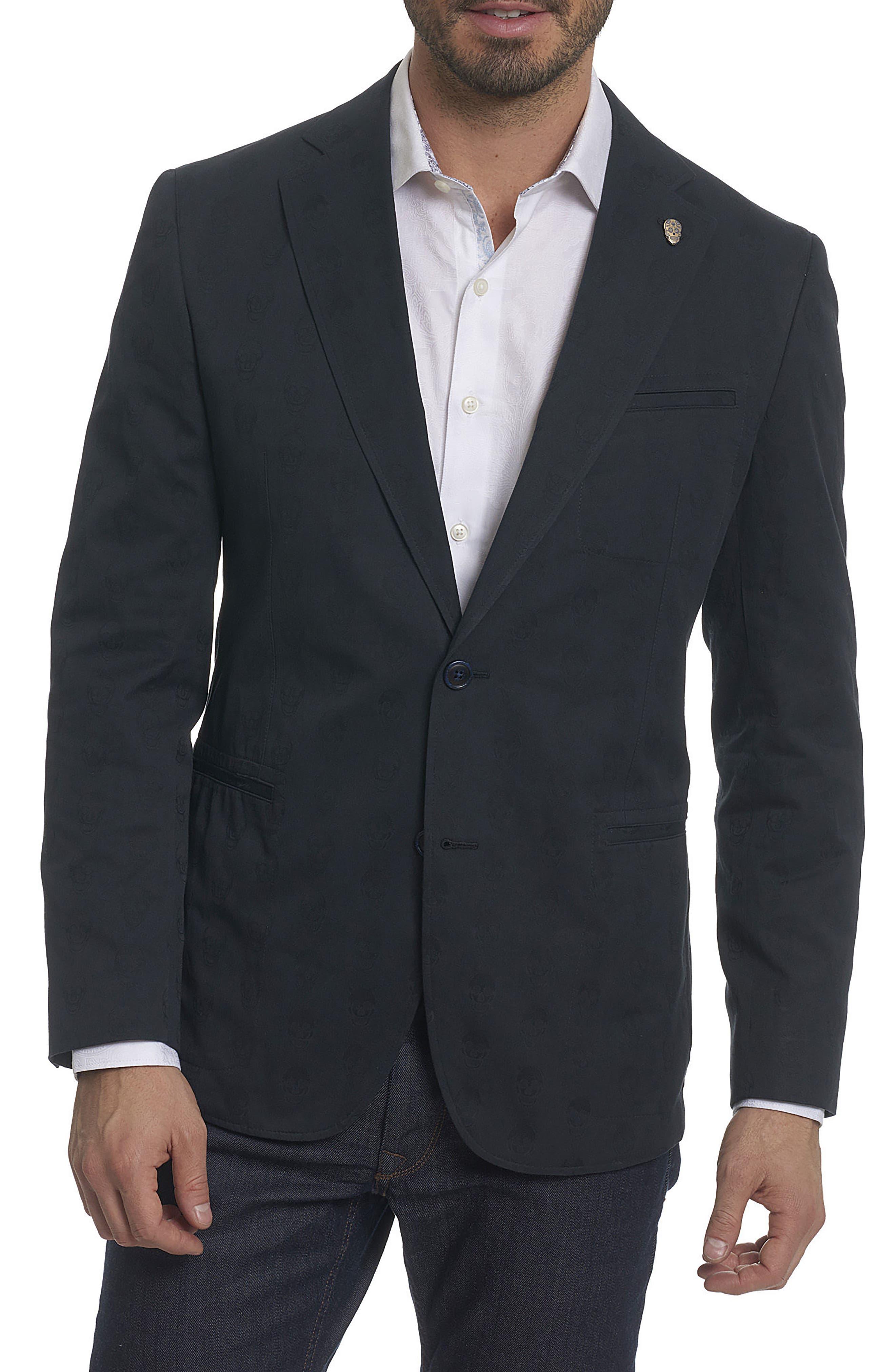 ROBERT GRAHAM Skully Jacquard Sport Coat