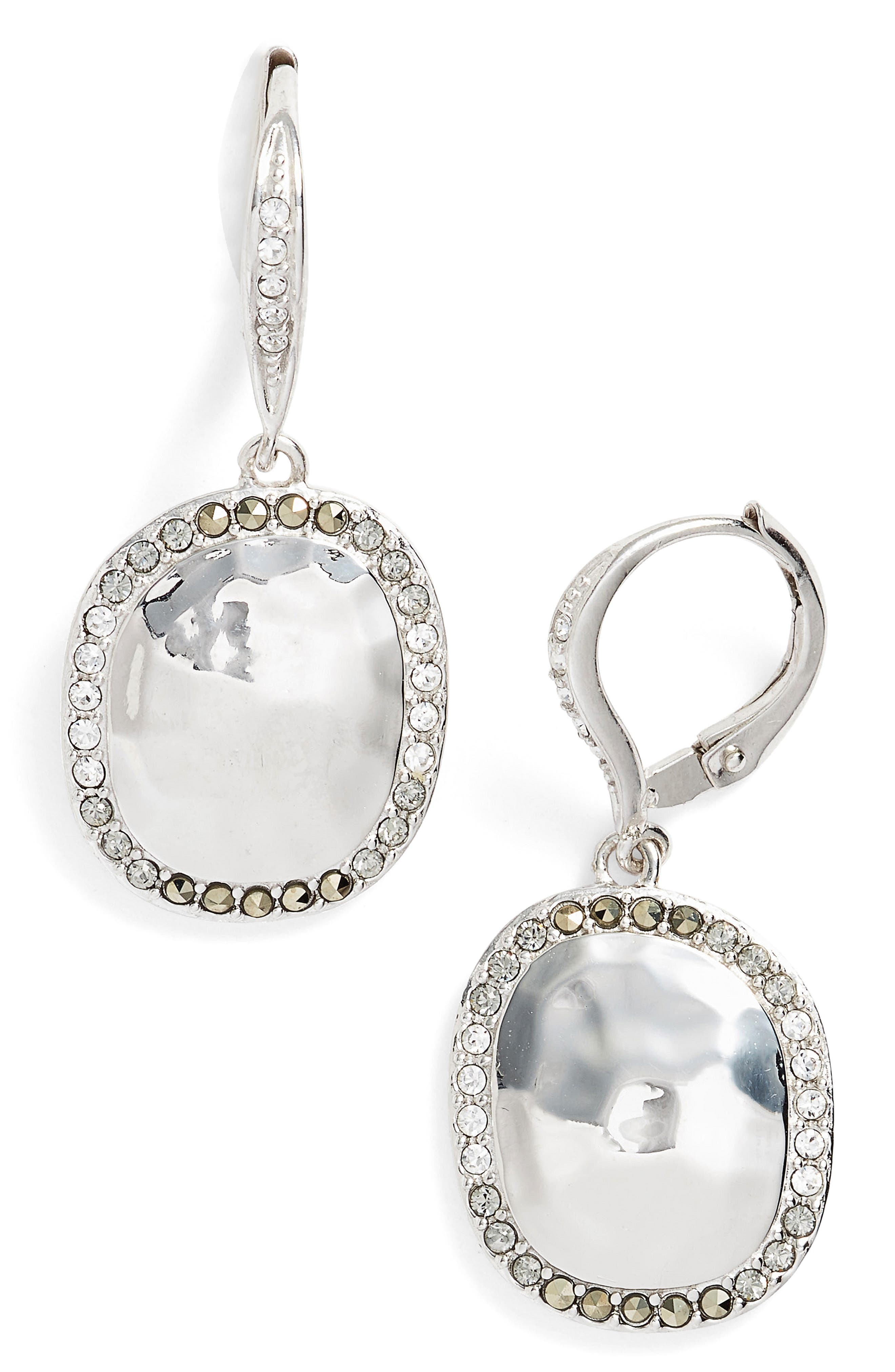 Alternate Image 1 Selected - Judith Jack Semiprecious Stone Drop Earrings
