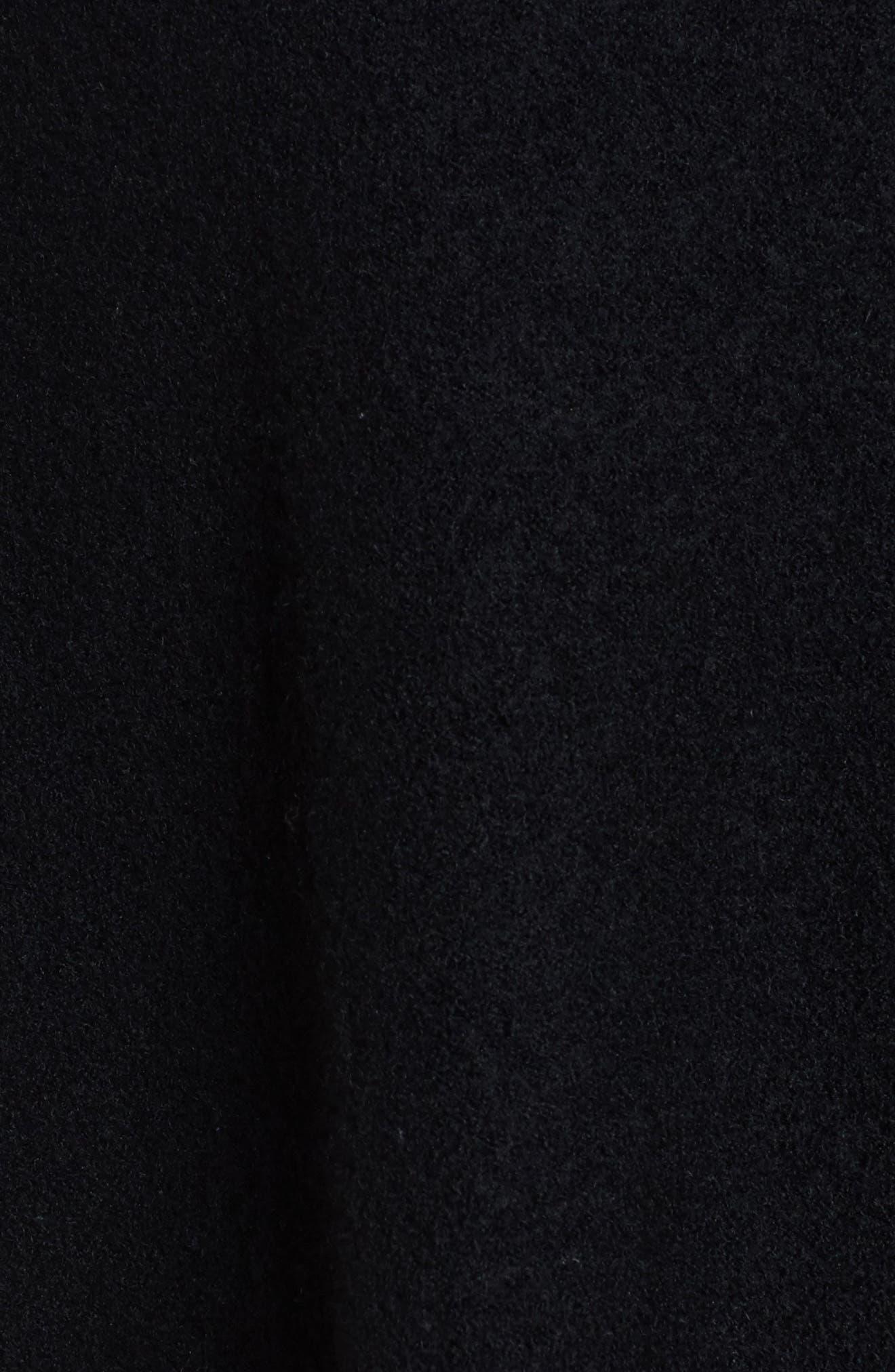 Alternate Image 5  - Anne Klein Zip Front Boiled Wool Cape