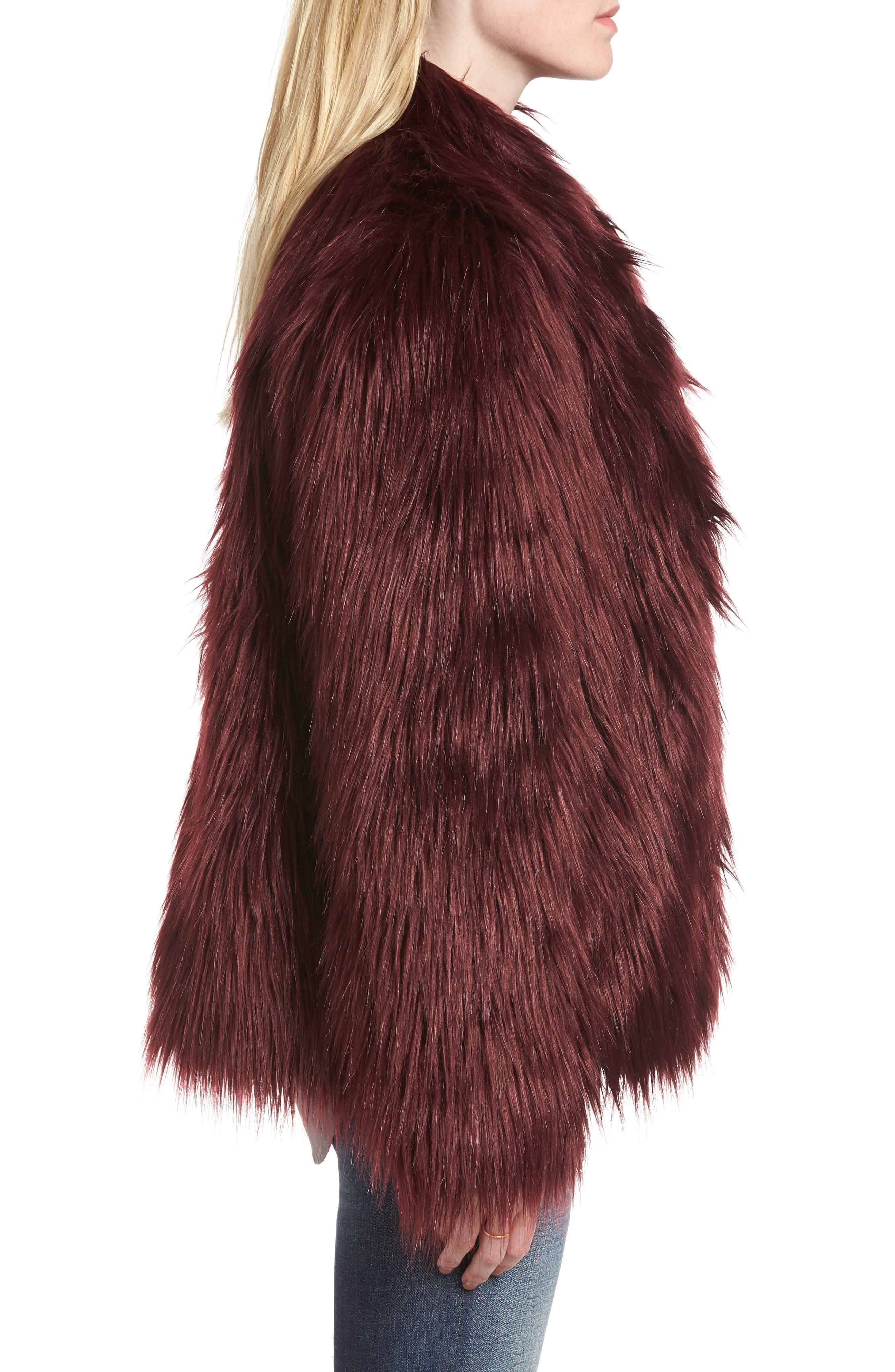 Alternate Image 3  - Chelsea28 Faux Fur Jacket