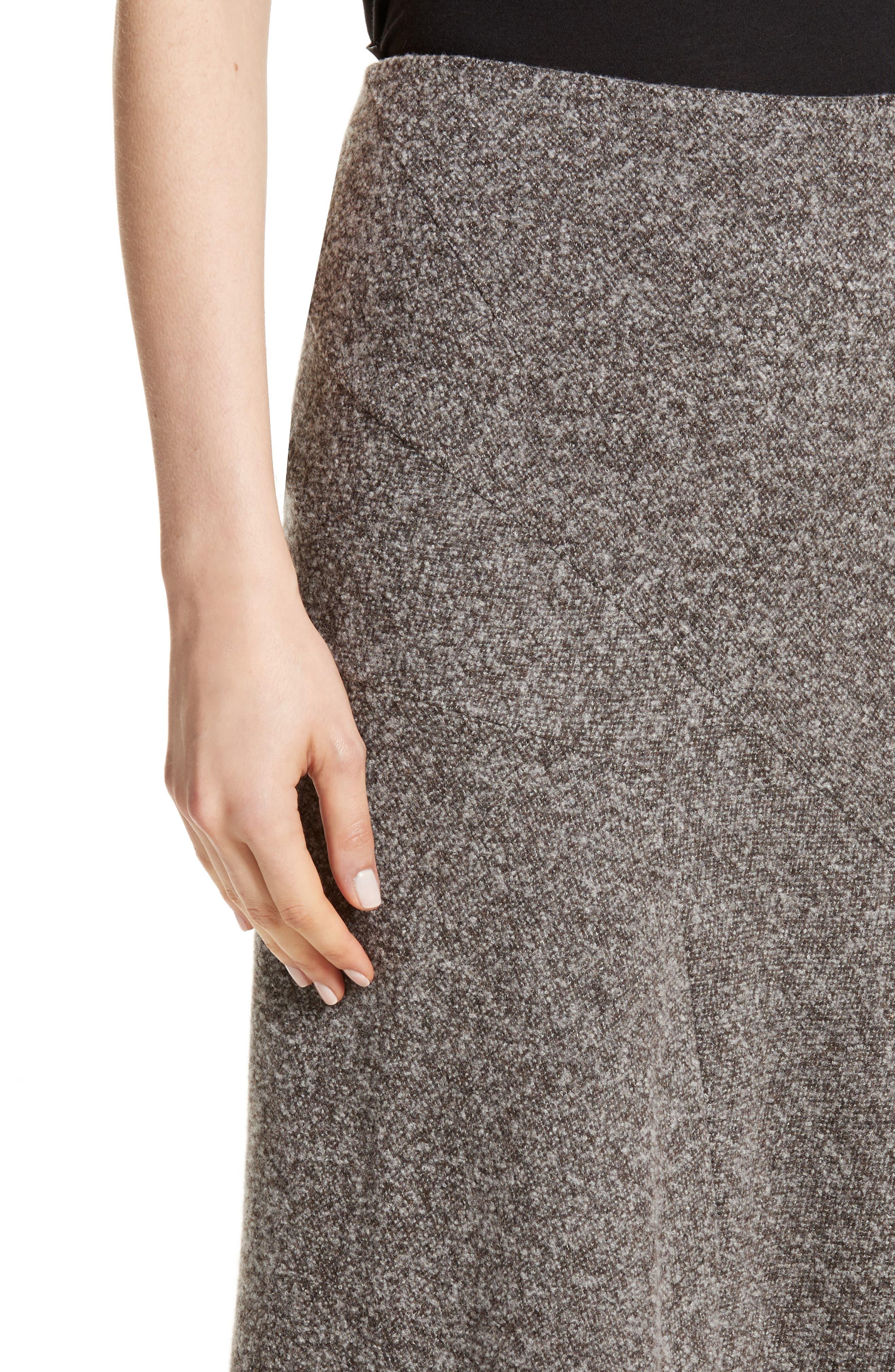 Alternate Image 4  - Atlein Galaxy Tweed Asymmetrical Skirt