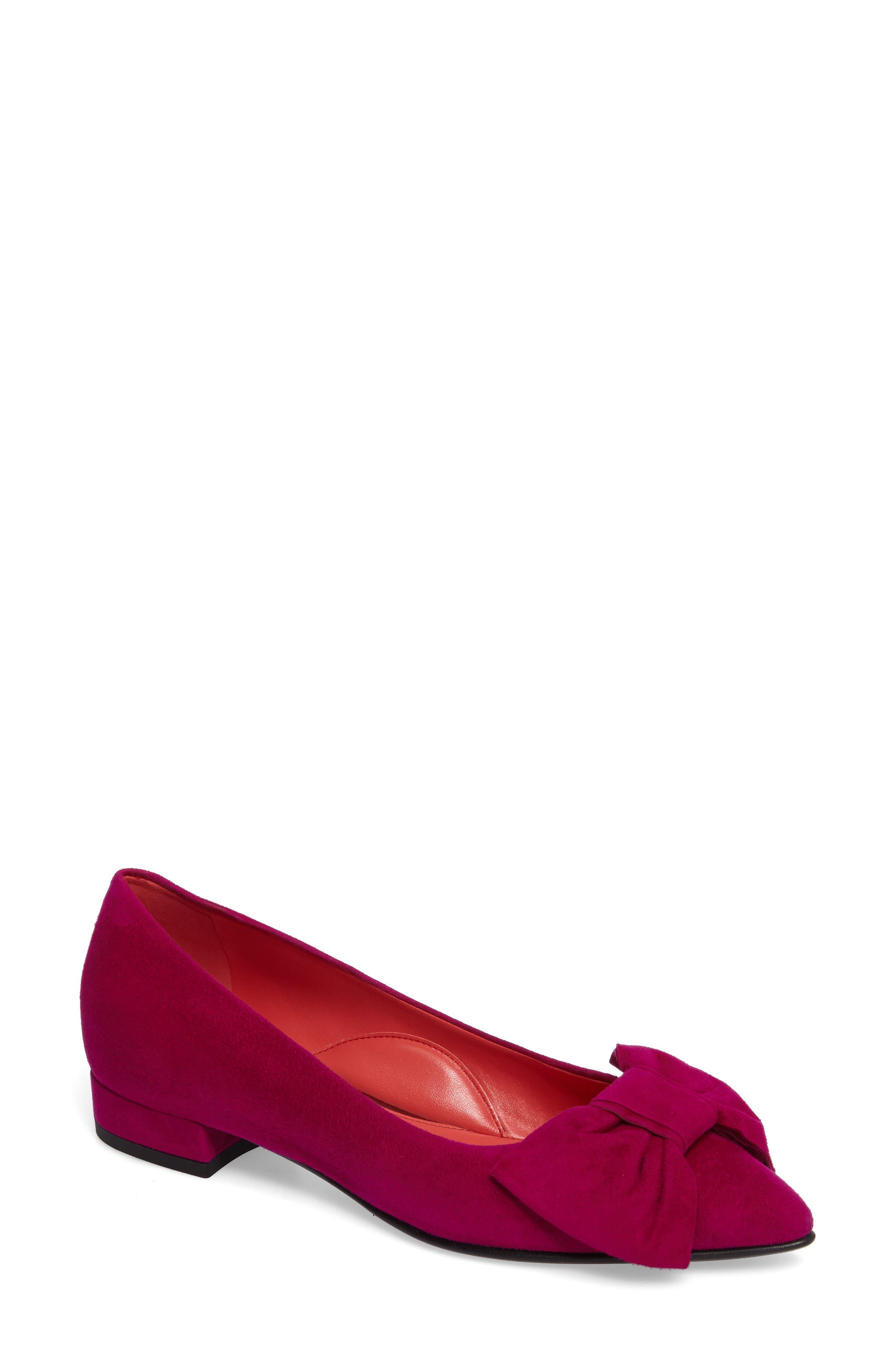 Main Image - Pas de Rouge Bow Detail Pump (Women)