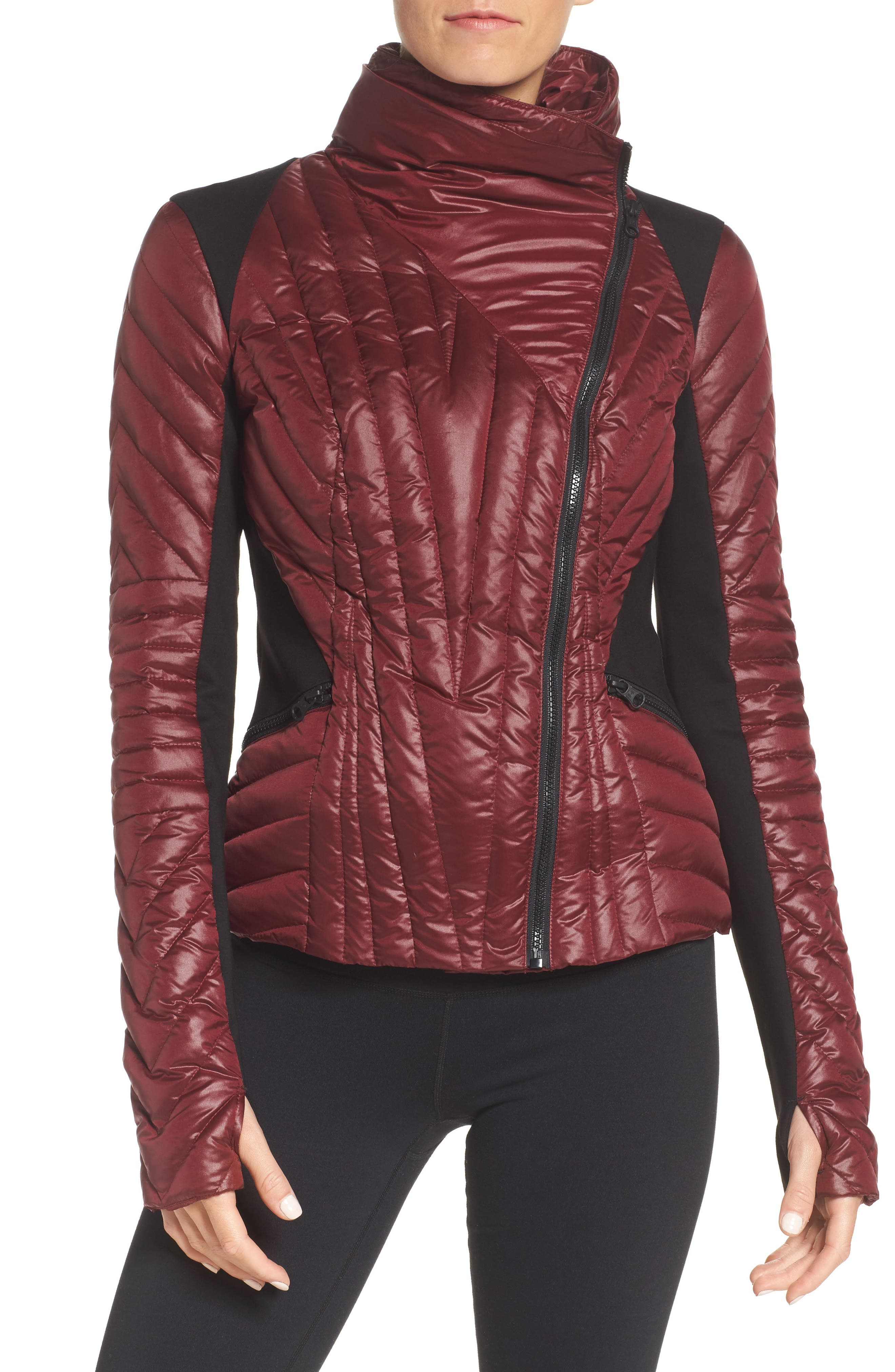 Motion Panel Down Puffer Jacket,                         Main,                         color, Nightshade