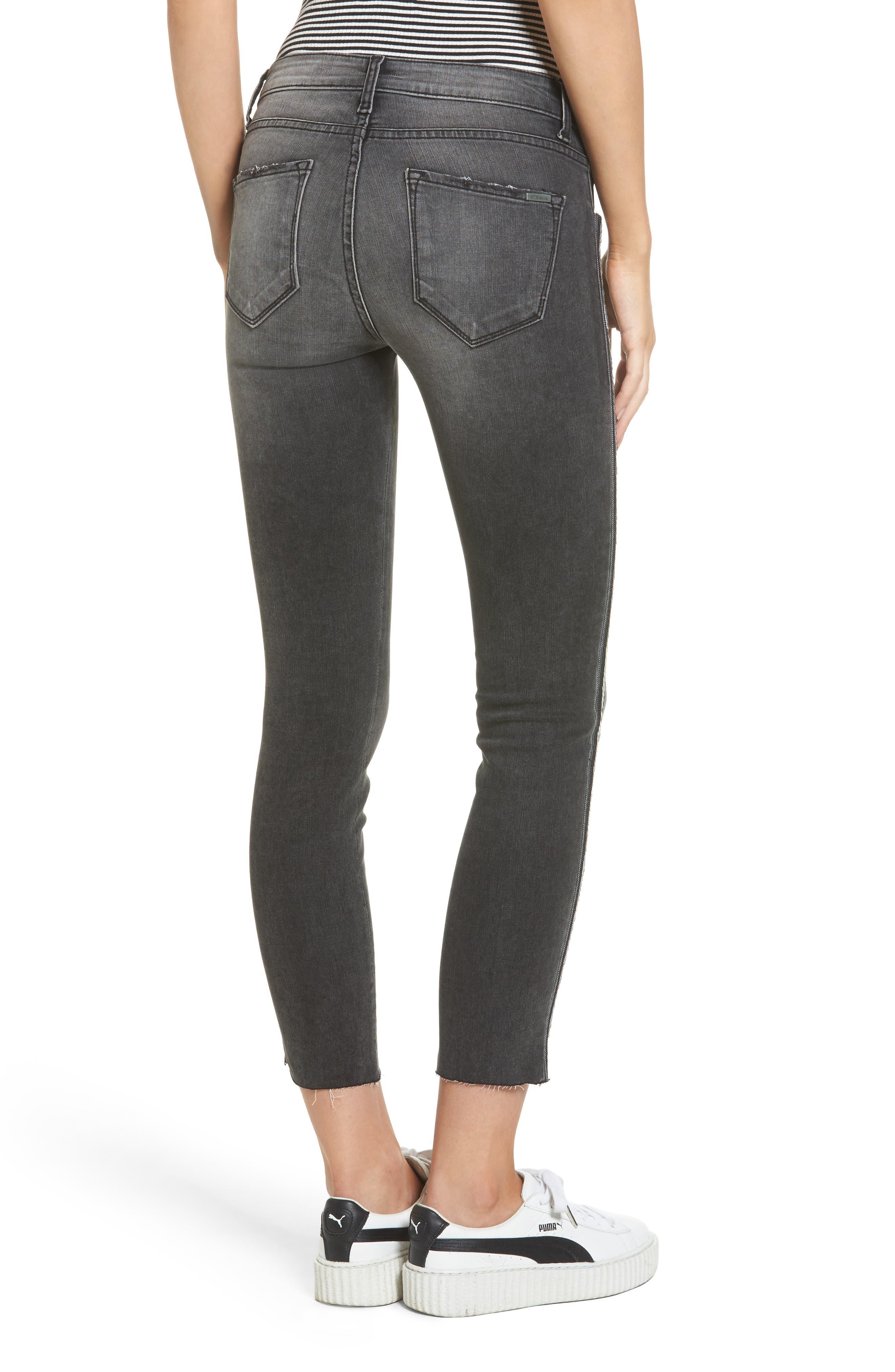 Alternate Image 2  - STS Blue Tuxedo Stripe Skinny Jeans