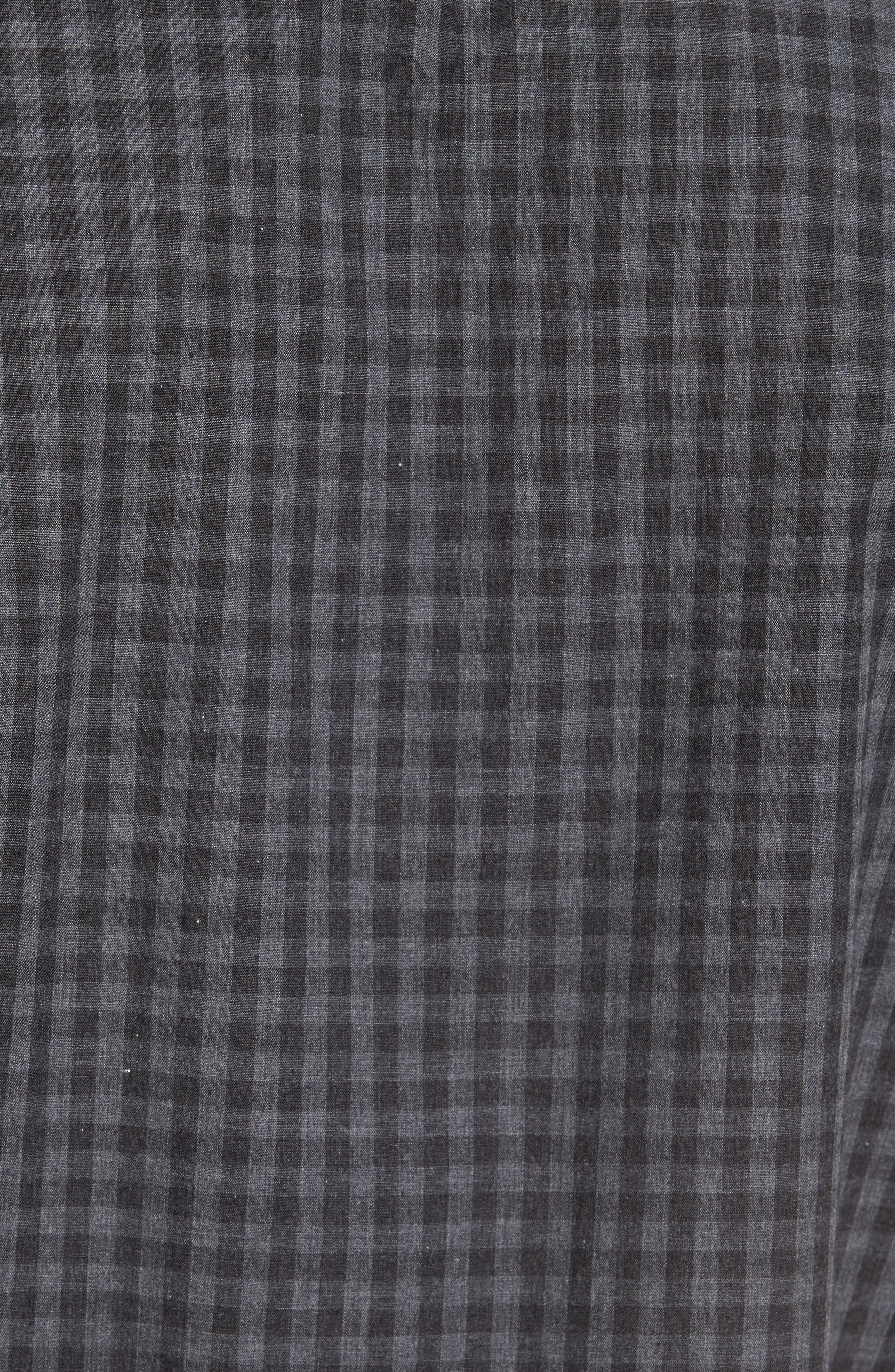 Slim Fit Print Sport Shirt,                             Alternate thumbnail 6, color,                             Grey
