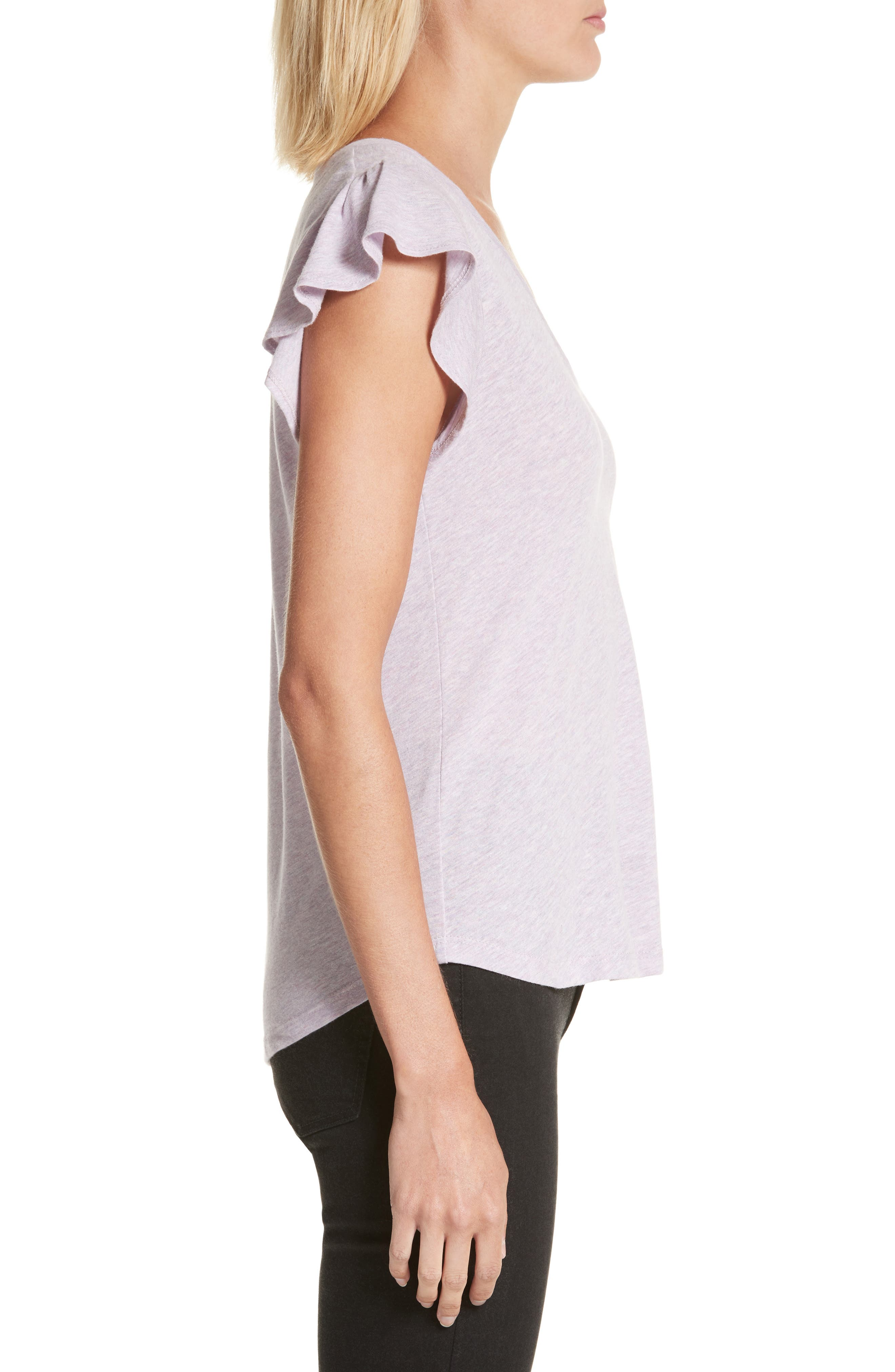 Alternate Image 3  - La Vie Rebecca Taylor Sleeveless Jersey Top