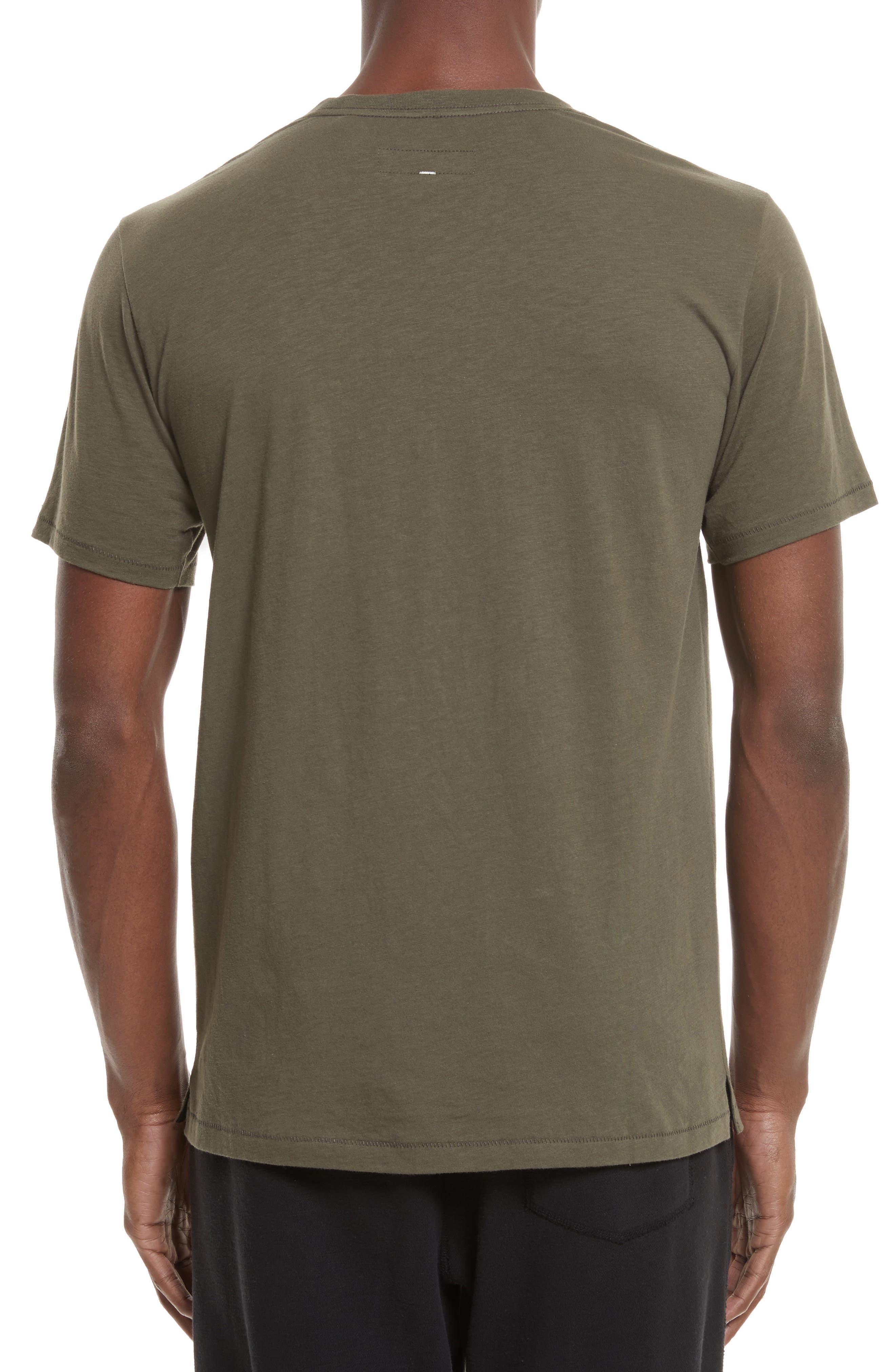 Alternate Image 2  - rag & bone Diamond Graphic T-Shirt