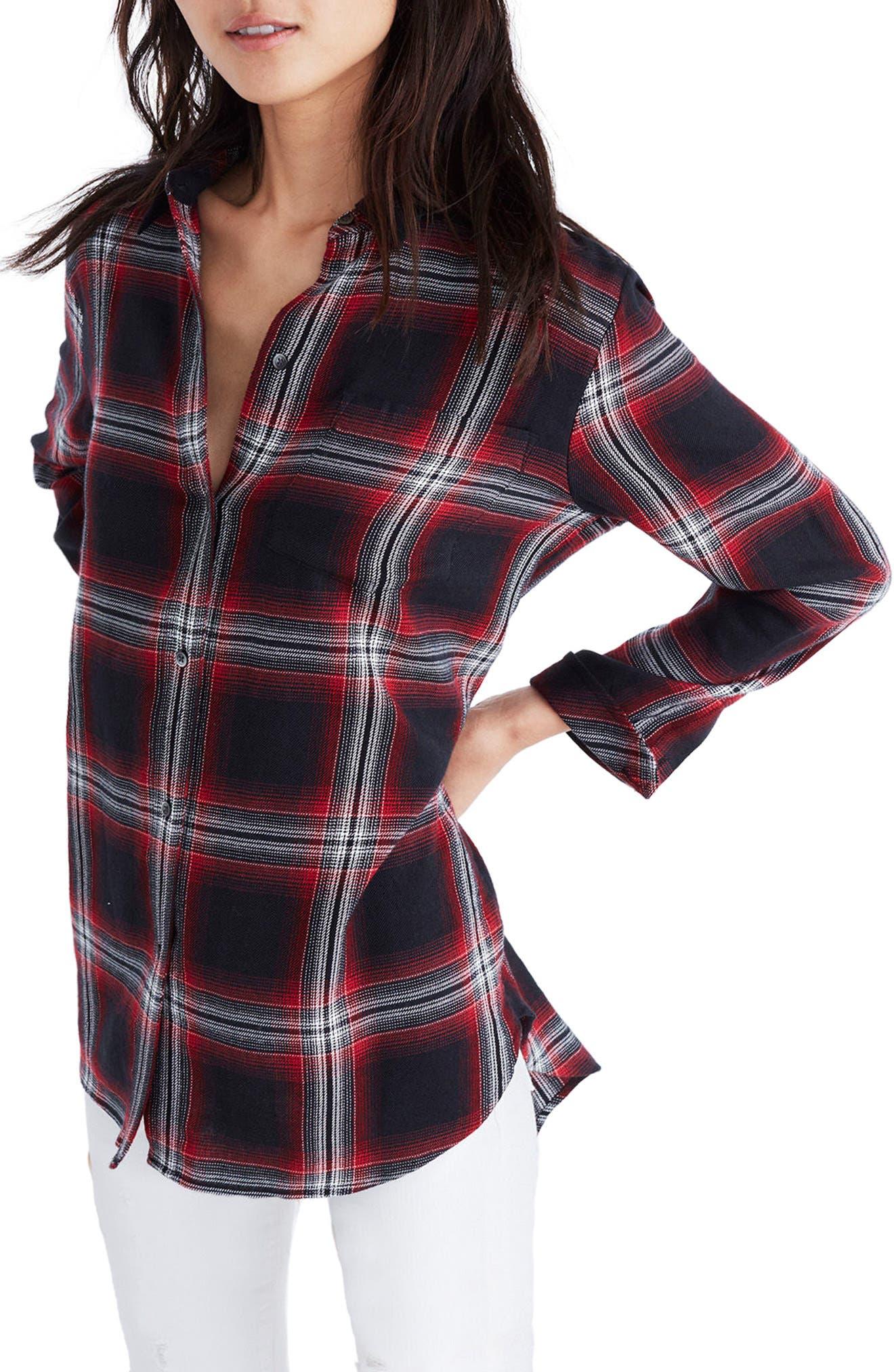 Main Image - Madewell Classic Ex-Boyfriend Shirt