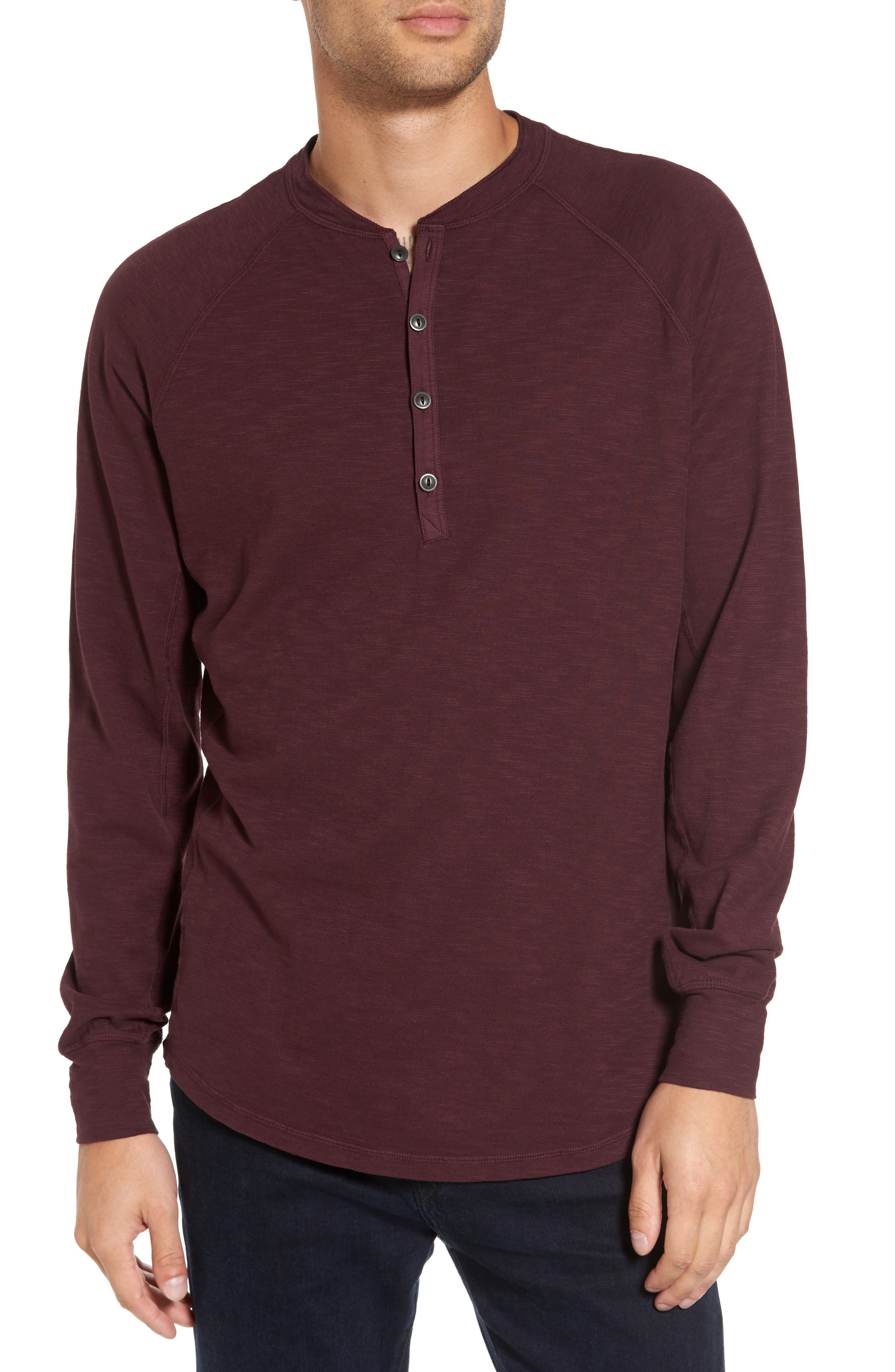 Good Man Brand Slim Fit Slub Henley