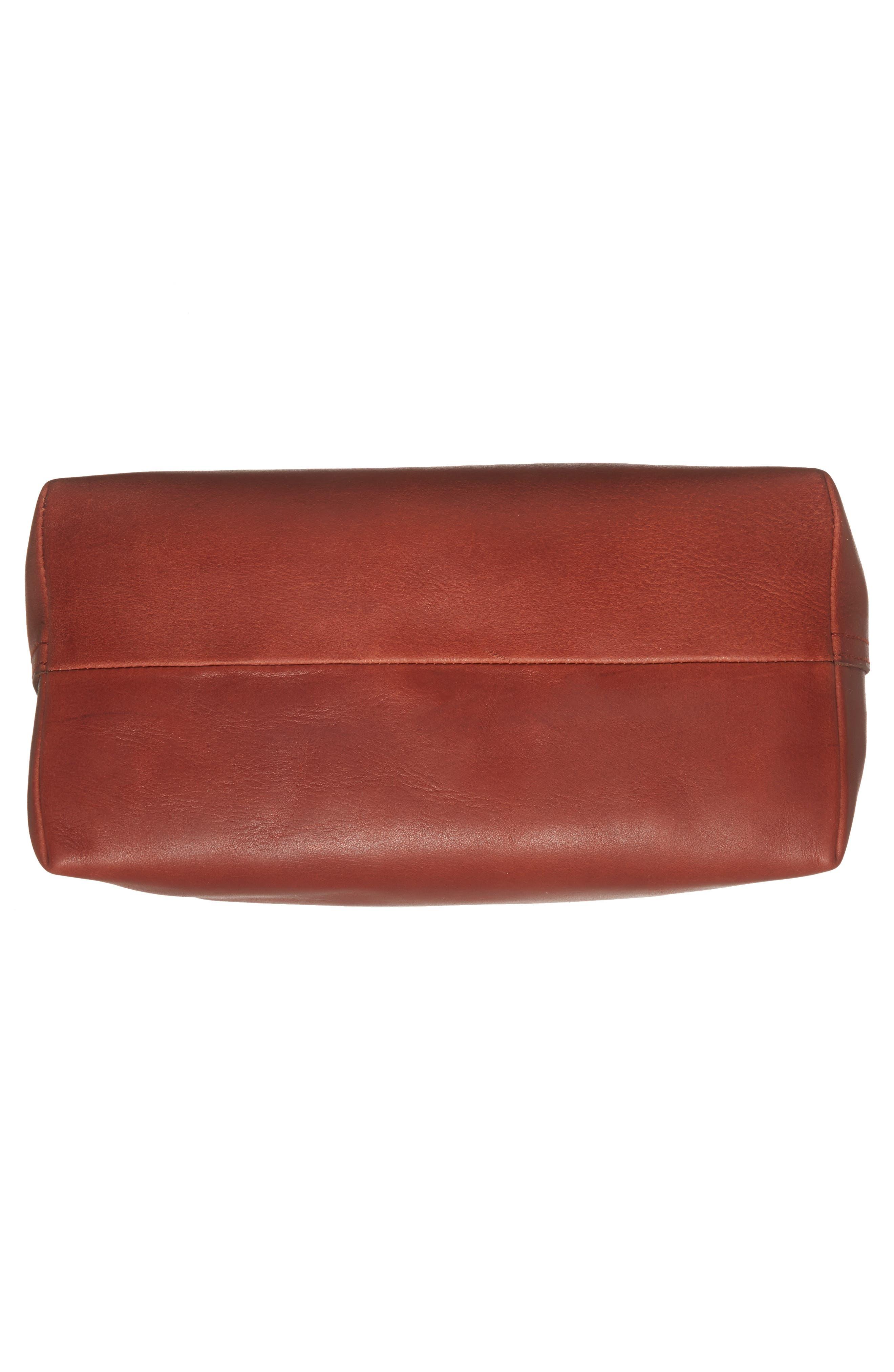 Alternate Image 6  - Madewell Medium Transport Leather Bucket Bag