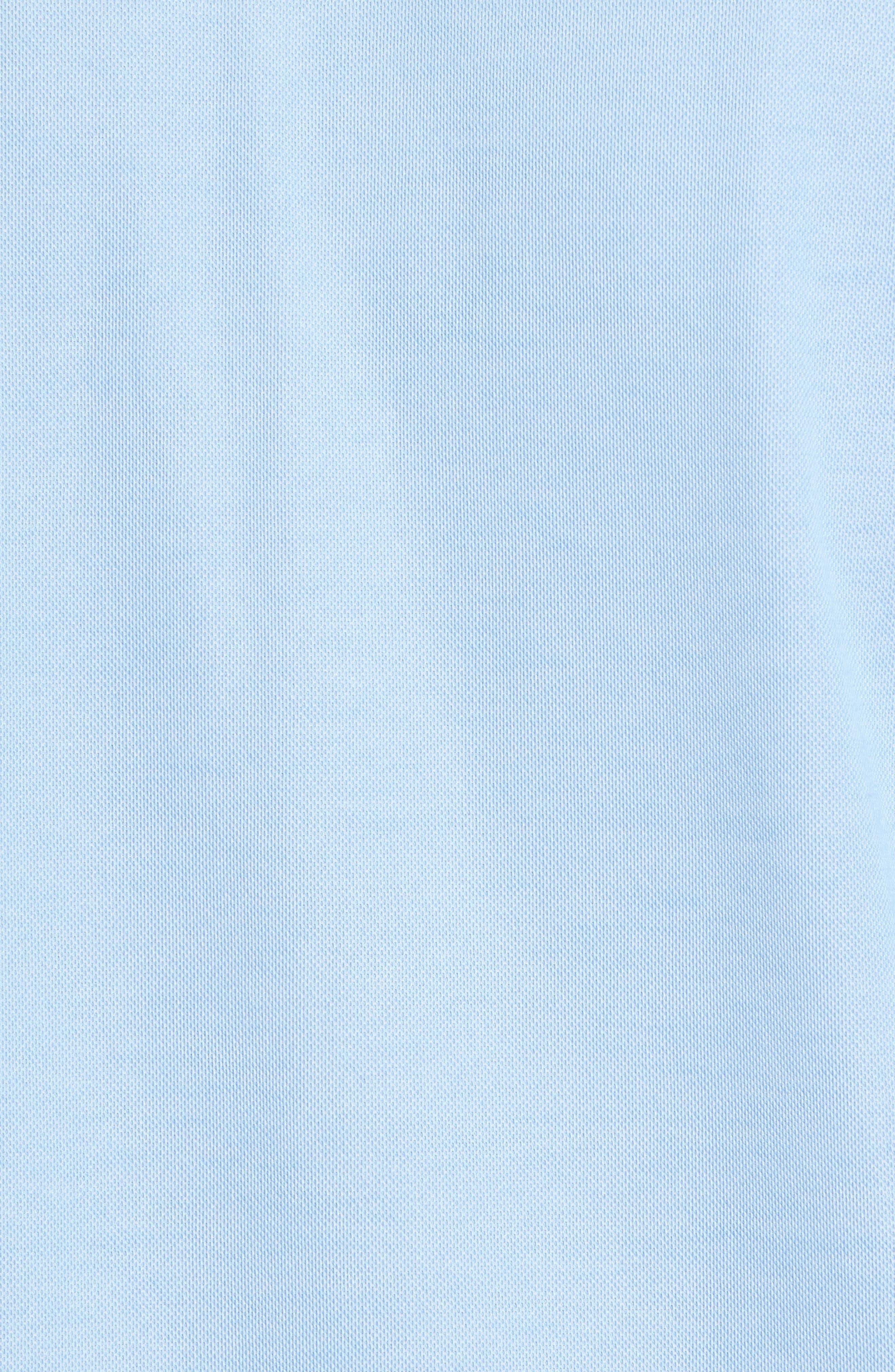 Freeburg Pocket Polo,                             Alternate thumbnail 5, color,                             Heather Dusk Blue