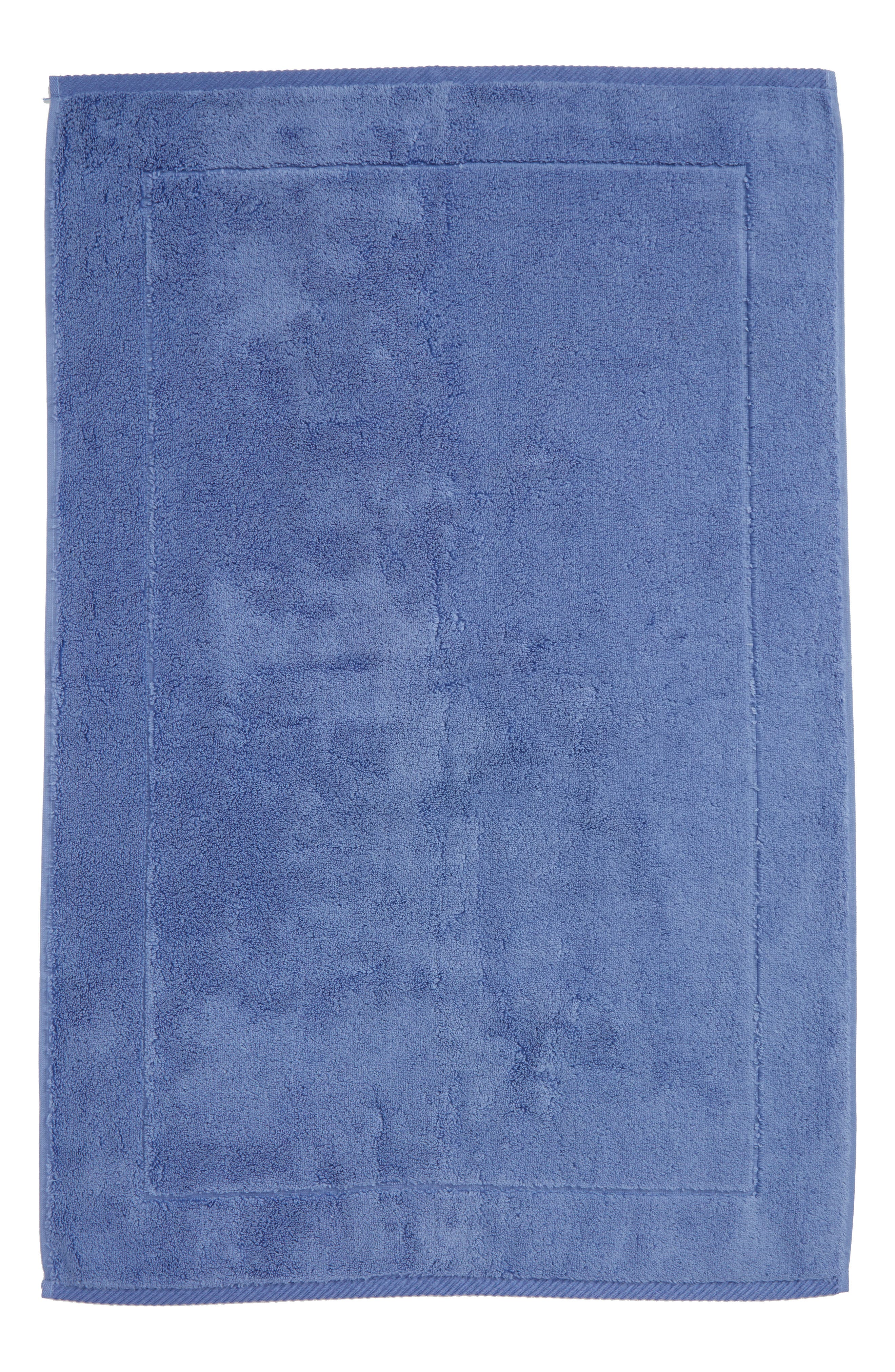 Milagro Bath Mat,                         Main,                         color, Periwinkle