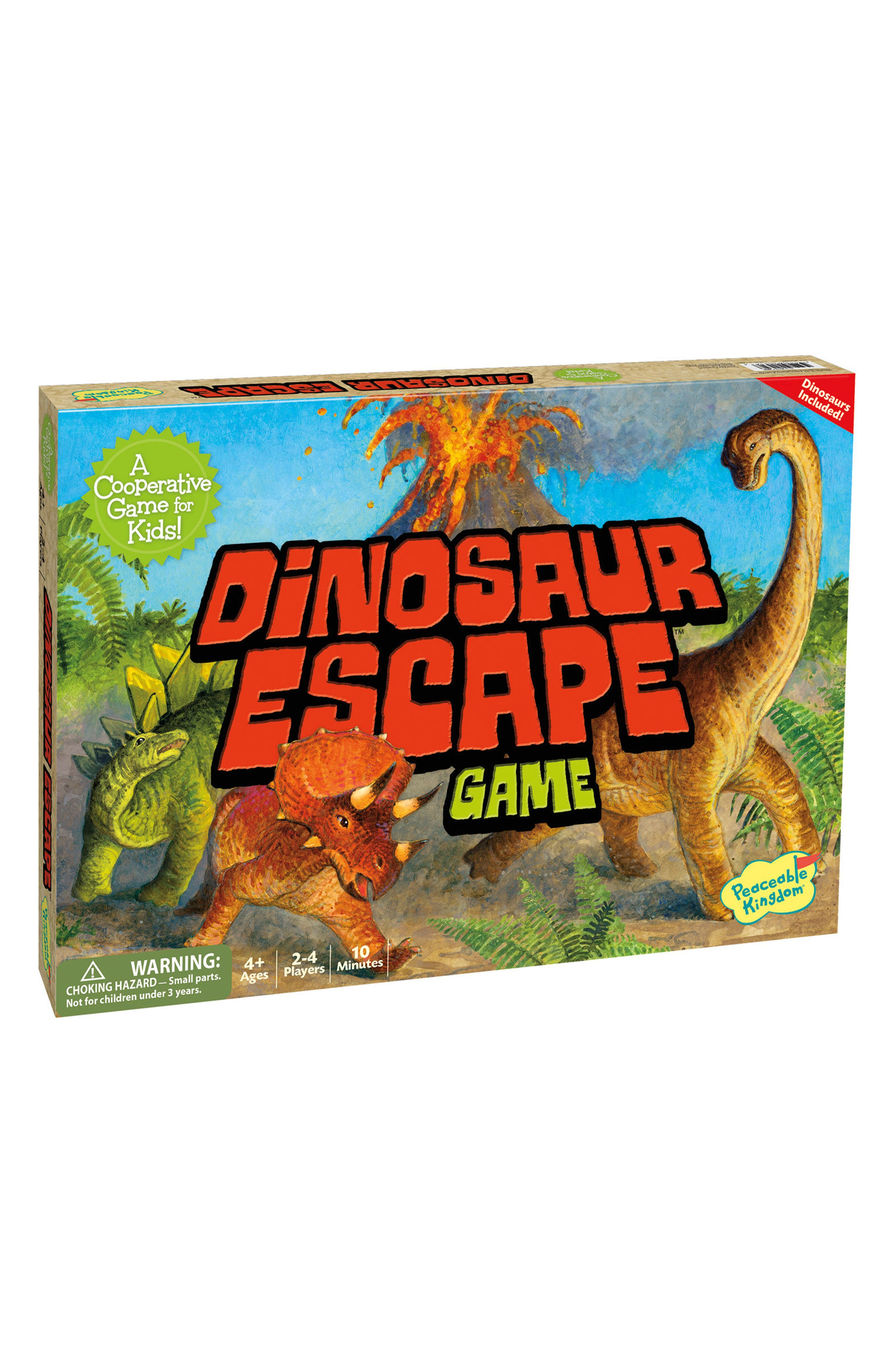Alternate Image 1 Selected - Peaceable Kingdom Dinosaur Escape Cooperative Board Game