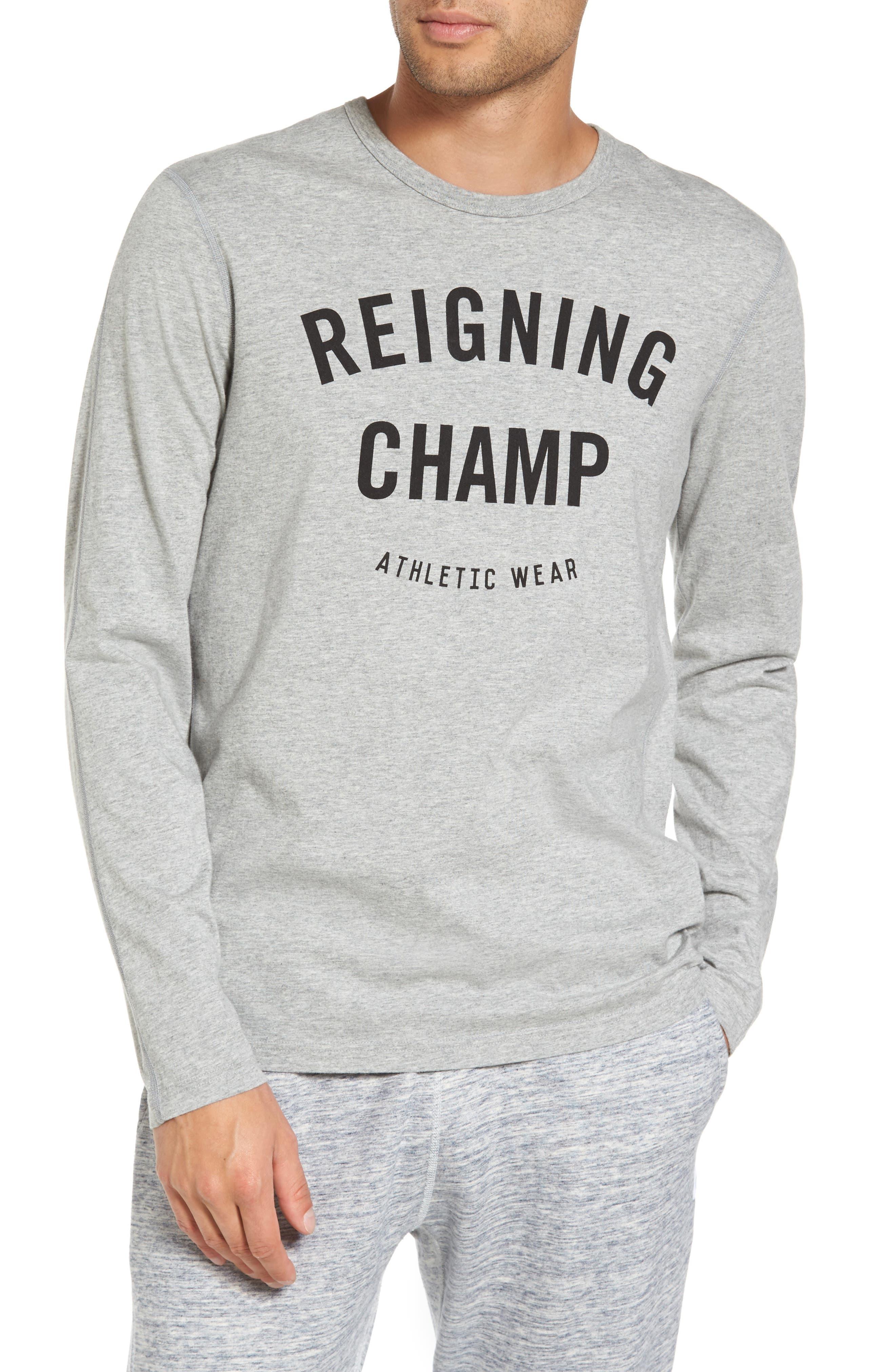 Main Image - Reigning Champ Gym Logo Long Sleeve T-Shirt
