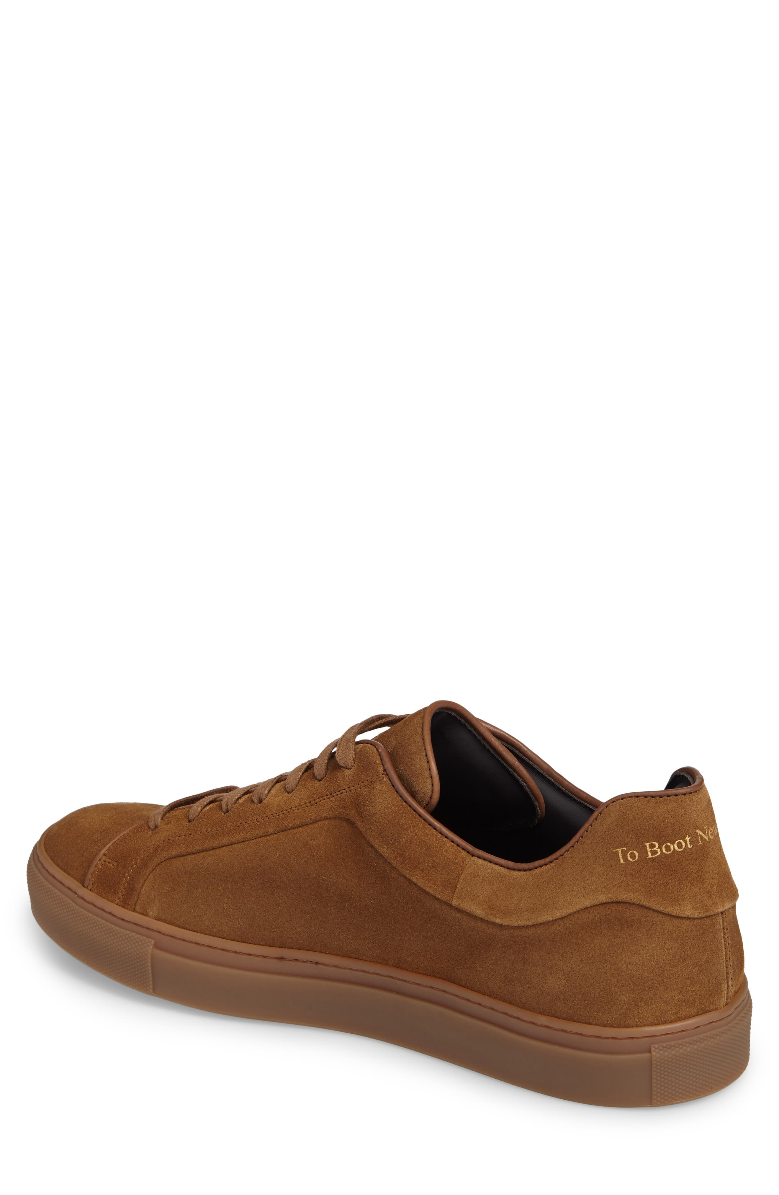 Marshall Sneaker,                             Alternate thumbnail 2, color,                             Brown Suede Leather