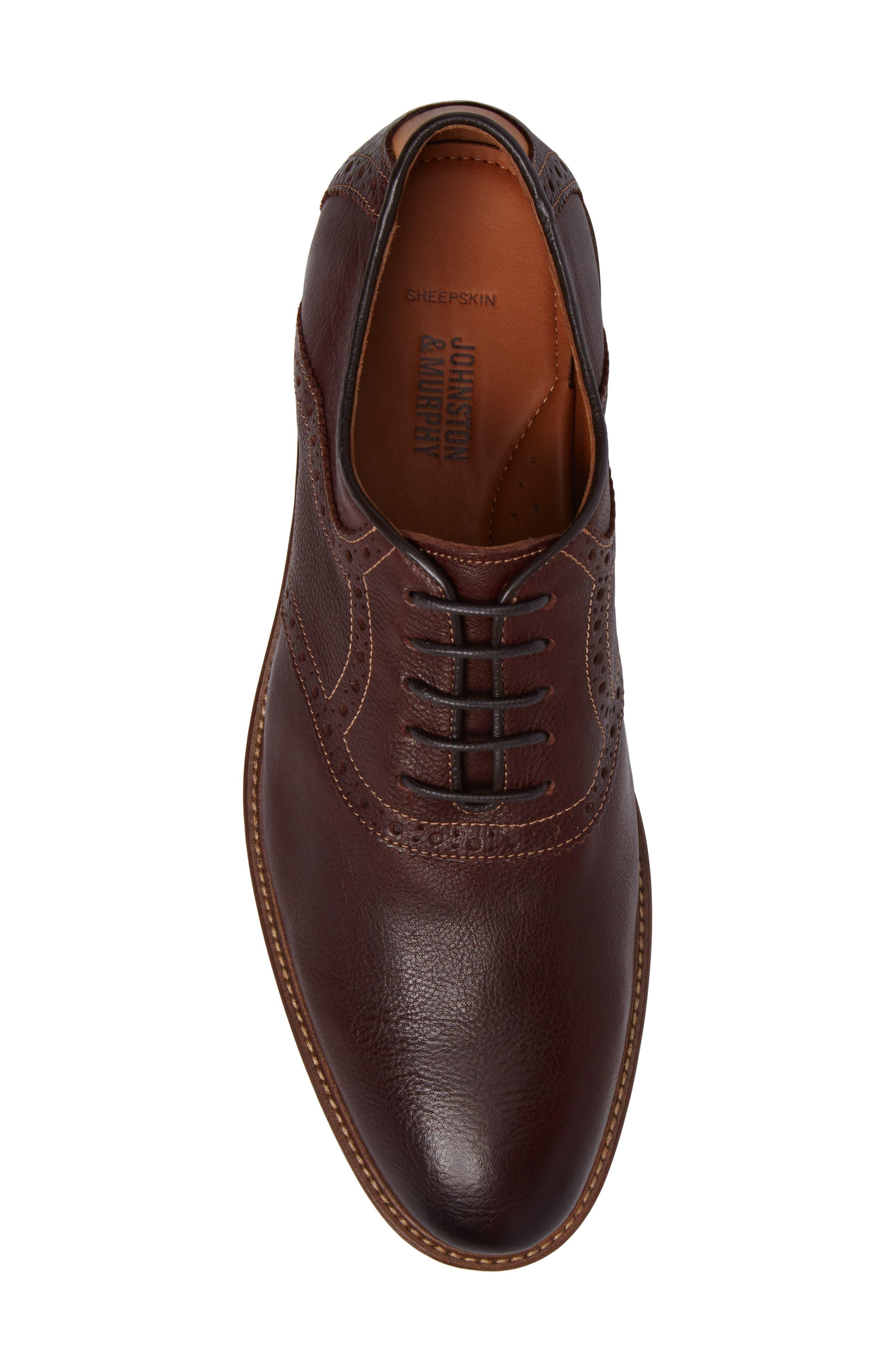Alternate Image 5  - Johnston & Murphy Warner Saddle Shoe (Men)