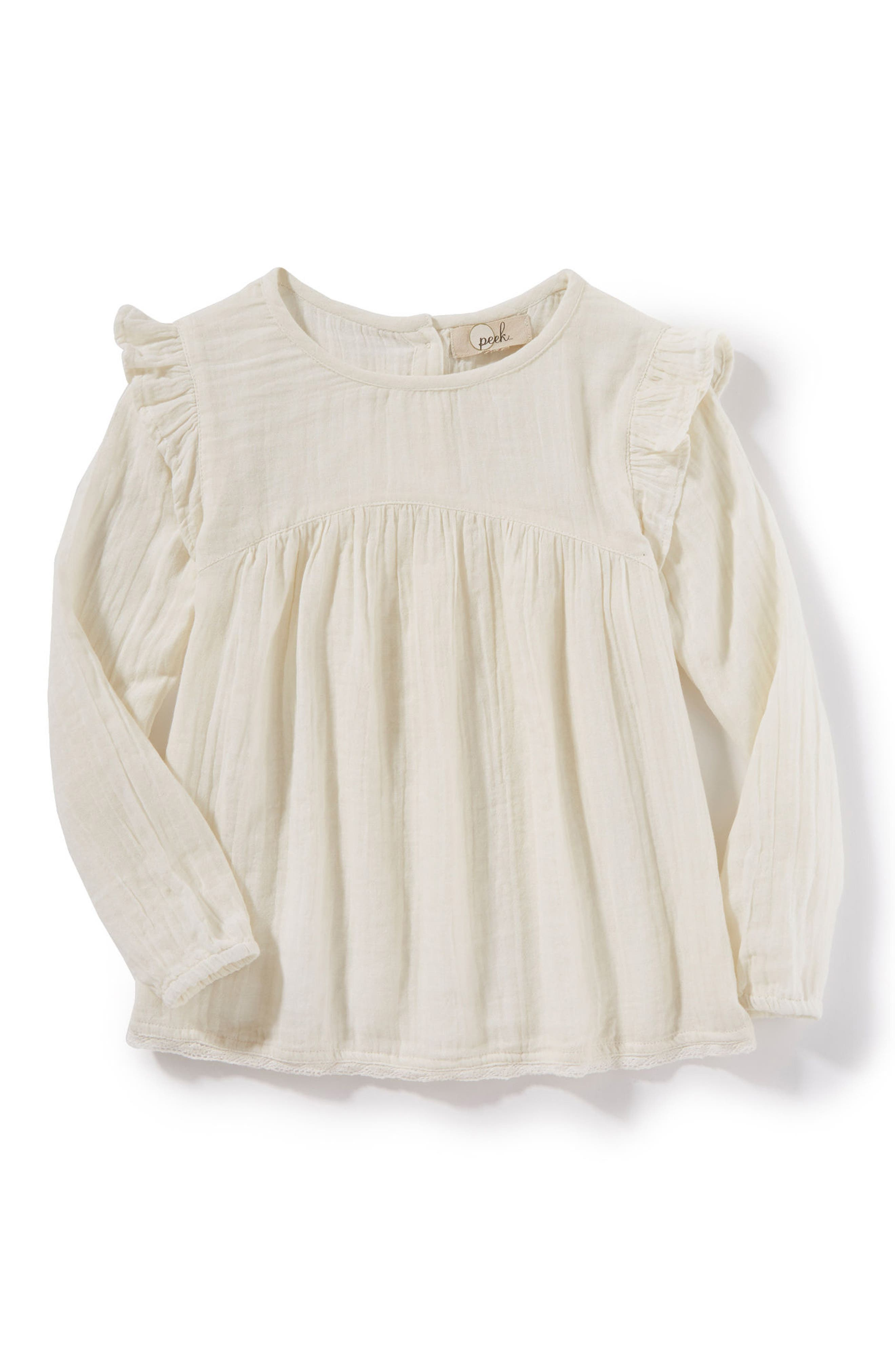 Peek Sophia Top (Toddler Girls, Little Girls & Big Girls)
