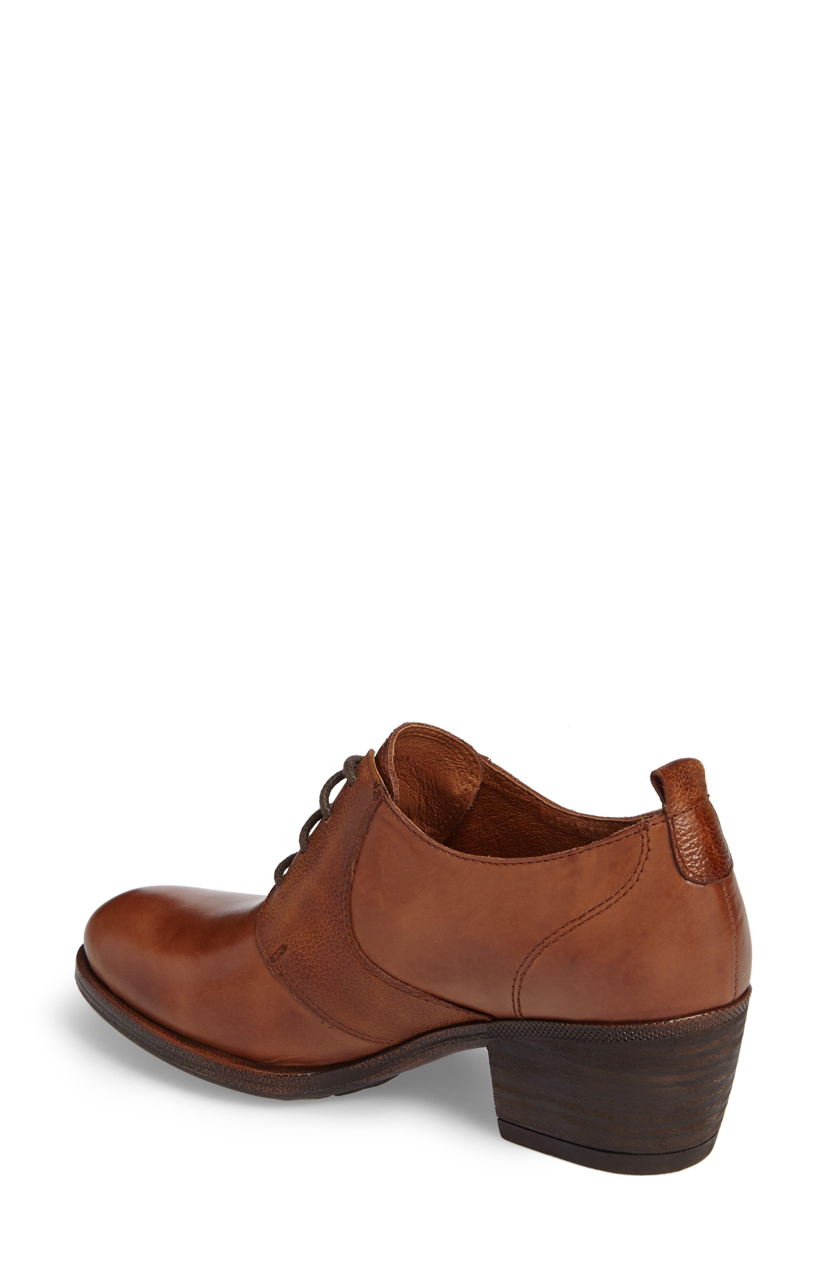 Baqueira Oxford Pump,                             Alternate thumbnail 2, color,                             Cuero Brandy Leather