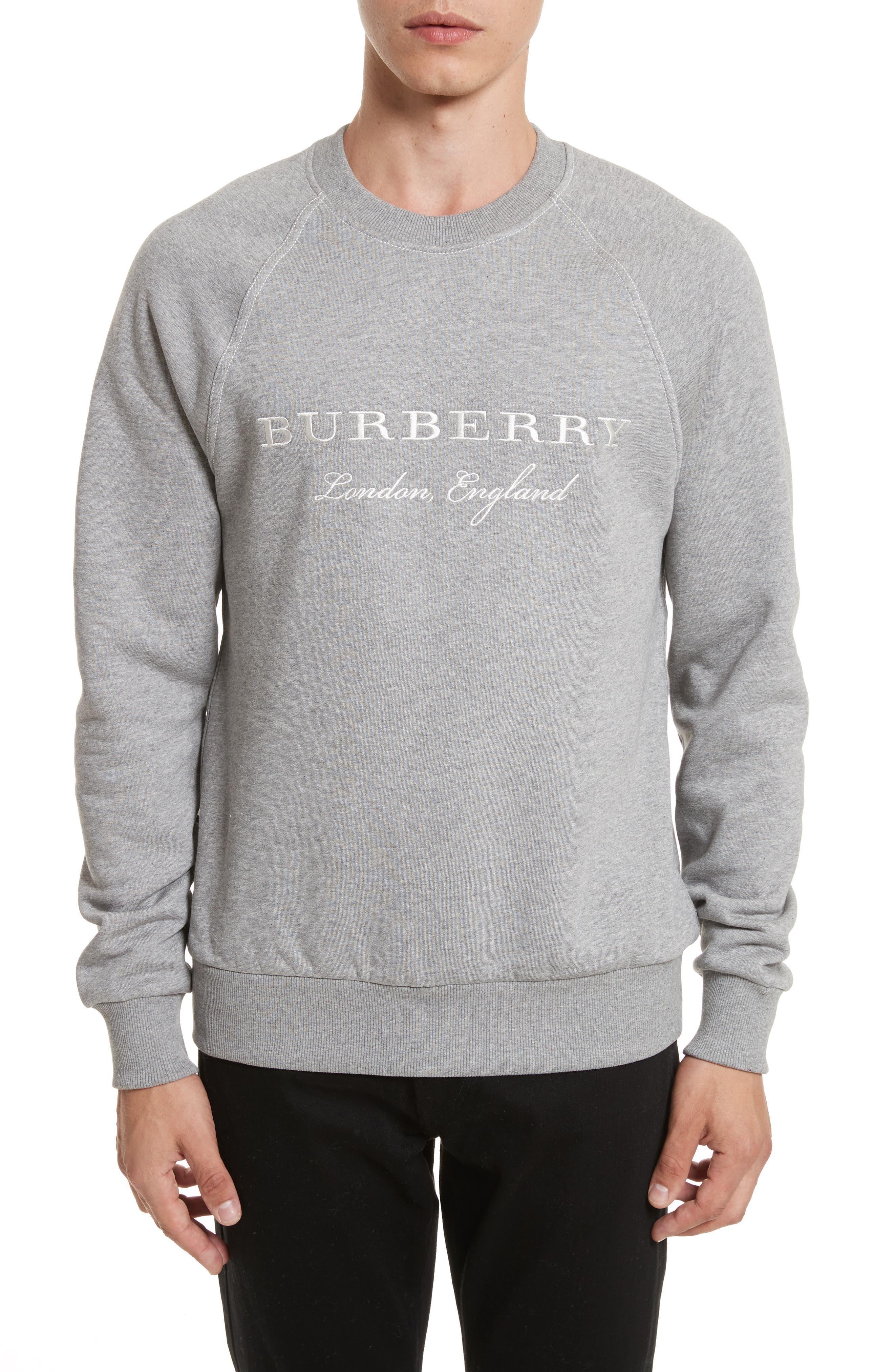 Taydon Abyqi Sweatshirt,                         Main,                         color, Pale Grey Melange
