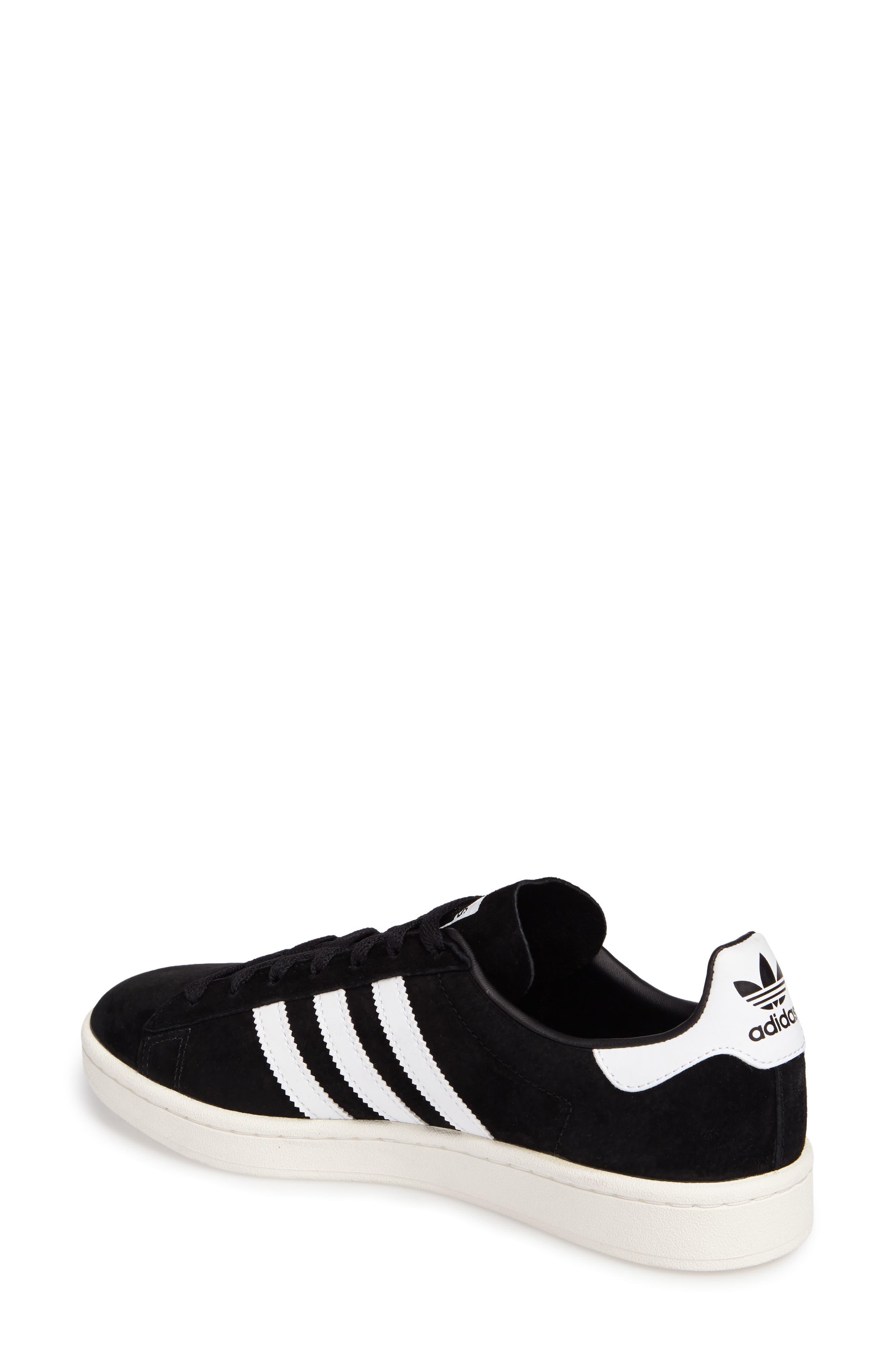 'Campus' Sneaker,                             Alternate thumbnail 2, color,                             Core Black/ White