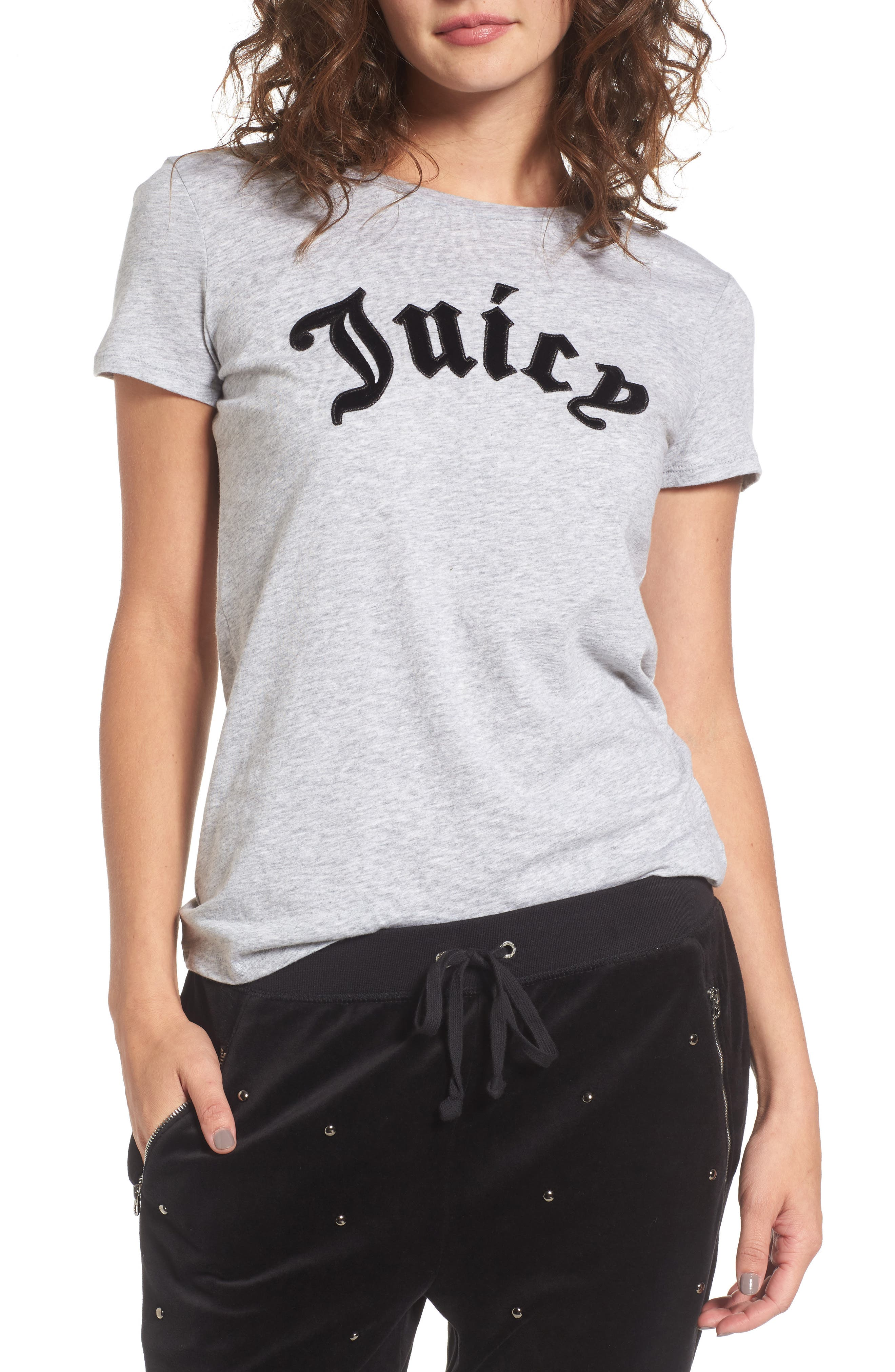Main Image - Juicy Couture Elevate Logo Tee
