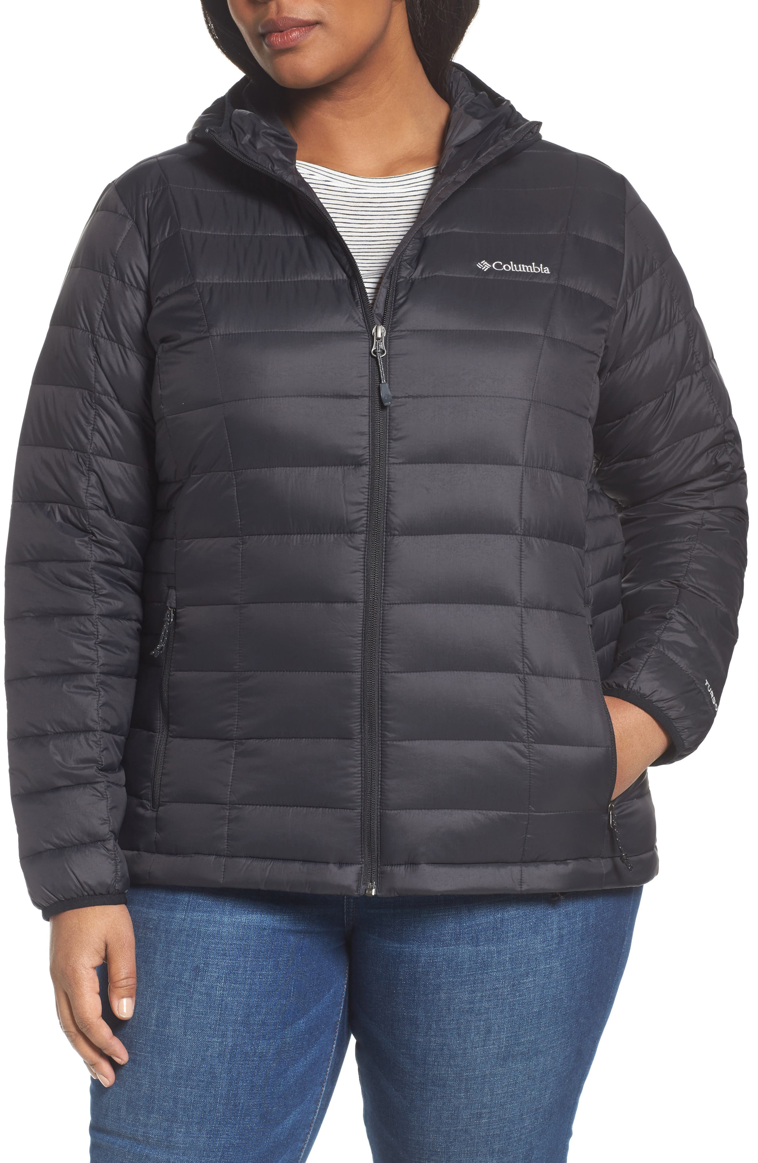 Alternate Image 4  - Columbia Voodoo Falls 590 Turbodown™ Down Jacket (Plus Size)