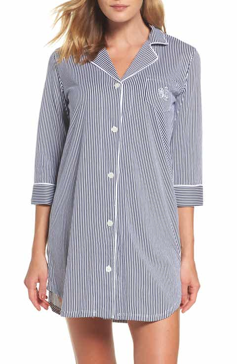 Lauren Ralph Lauren Jersey Sleep Shirt (Online Only)