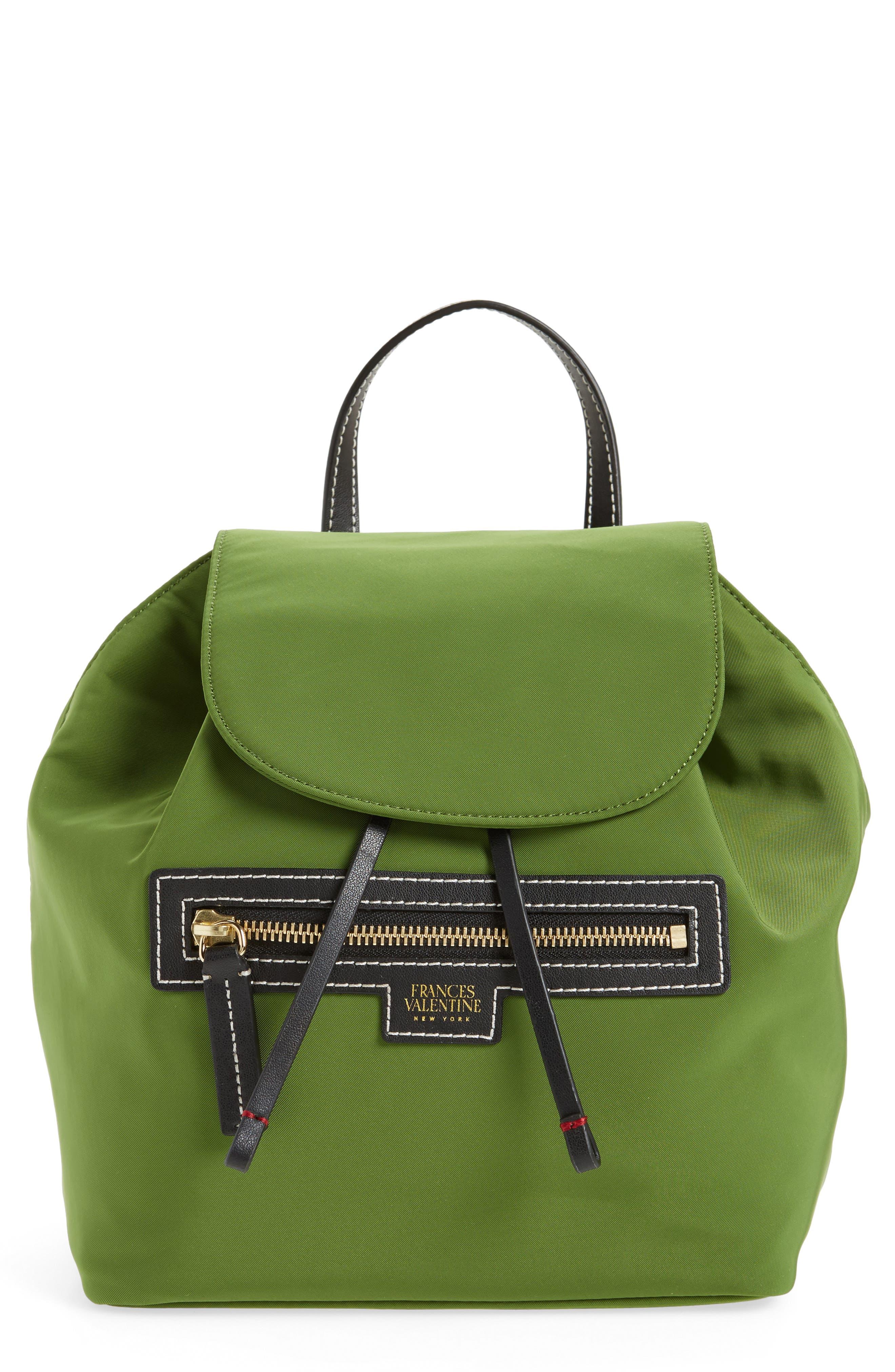 Nylon Backpack,                             Main thumbnail 1, color,                             Grass