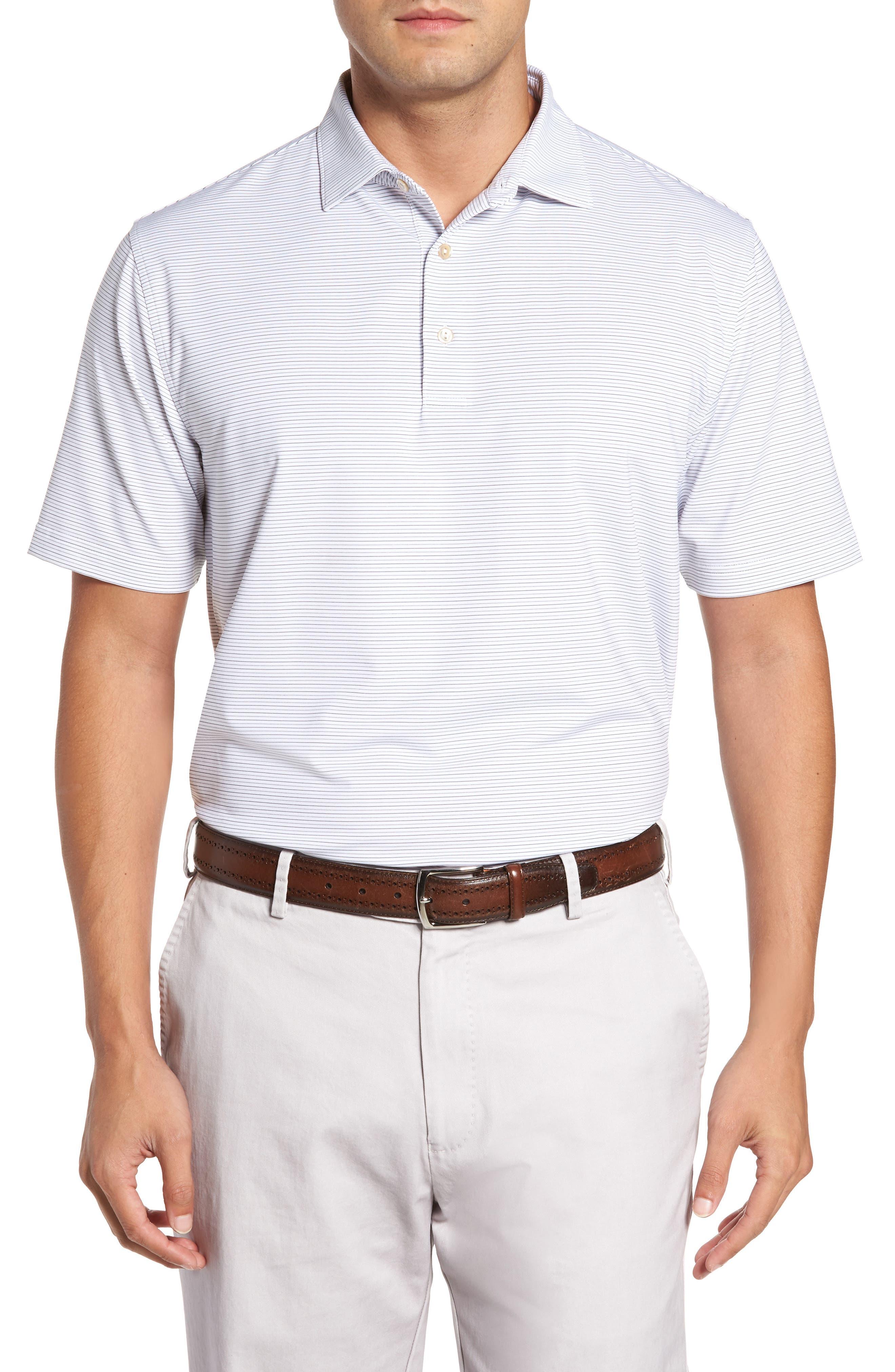 Alternate Image 1 Selected - Peter Millar Chesapeake Stripe Stretch Jersey Polo