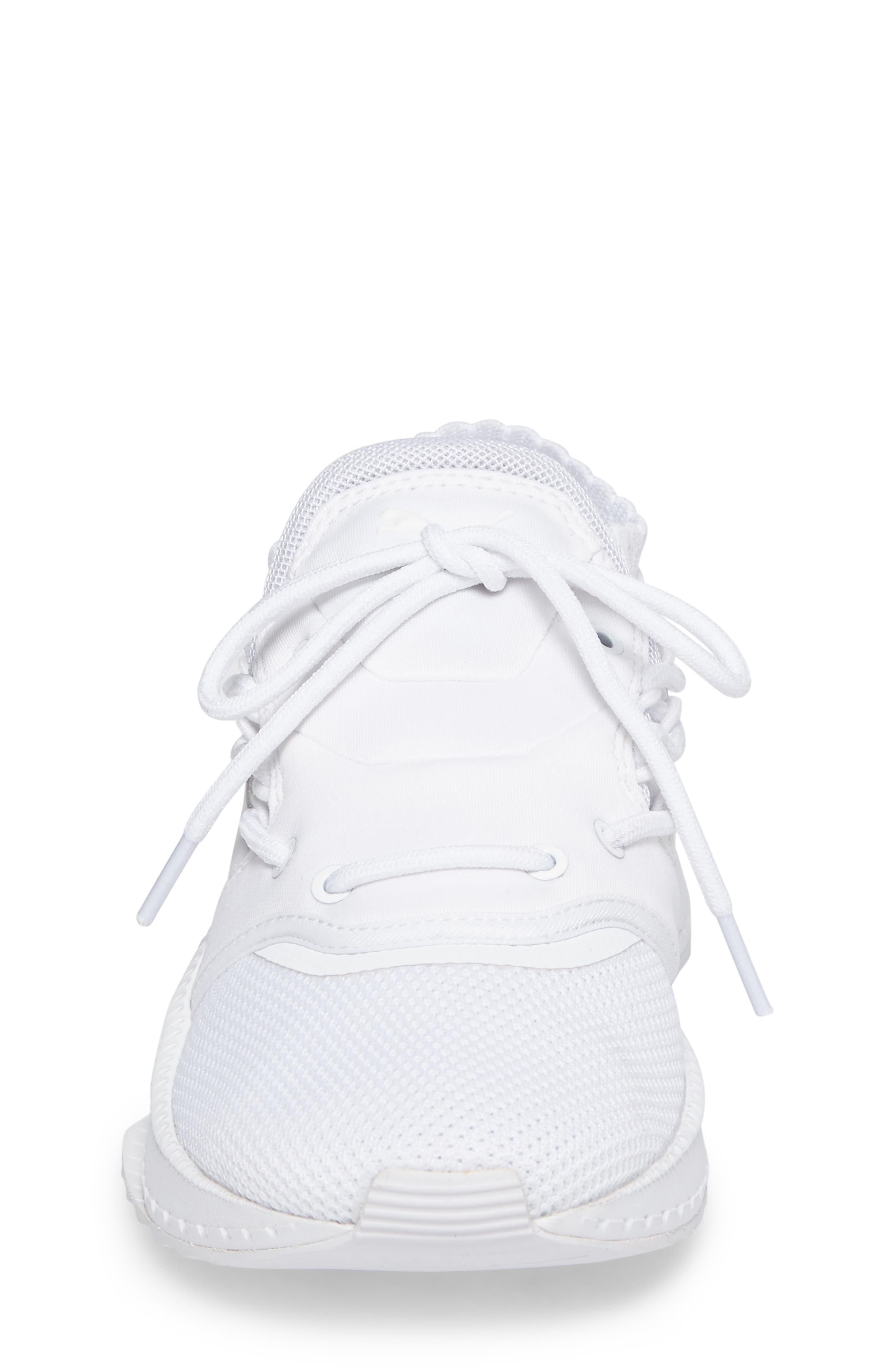 Tsugi Shinsei Jr Training Shoe,                             Alternate thumbnail 3, color,                             White