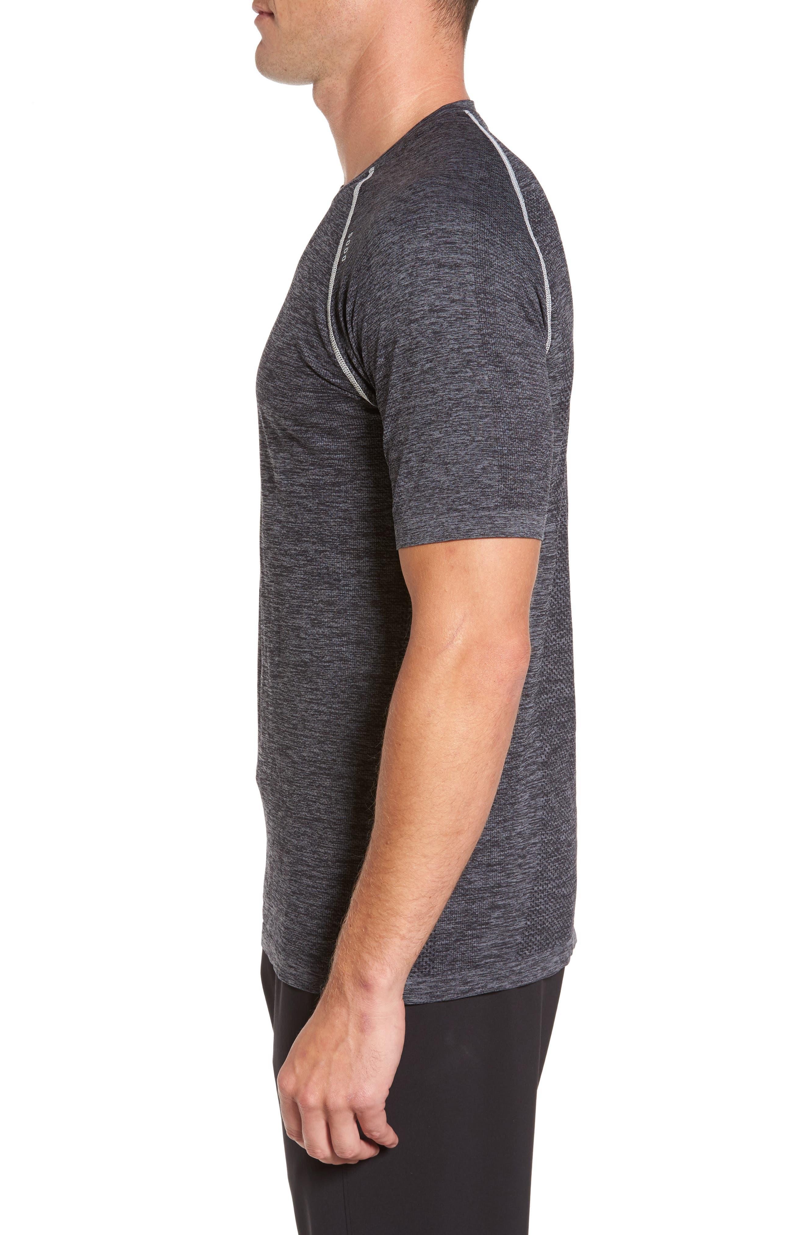Alternate Image 3  - SODO Seamless Crewneck Performance T-Shirt