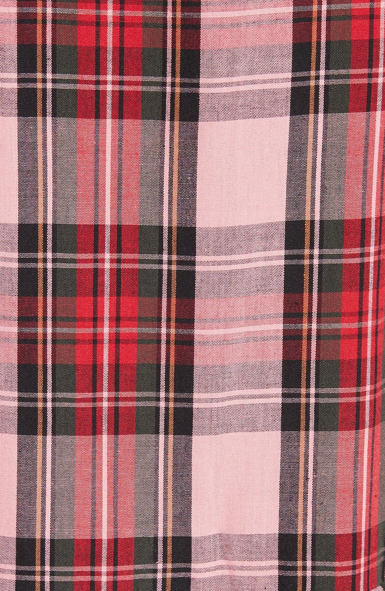 Alternate Image 5  - Molly Goddard Martha Tartan Dress