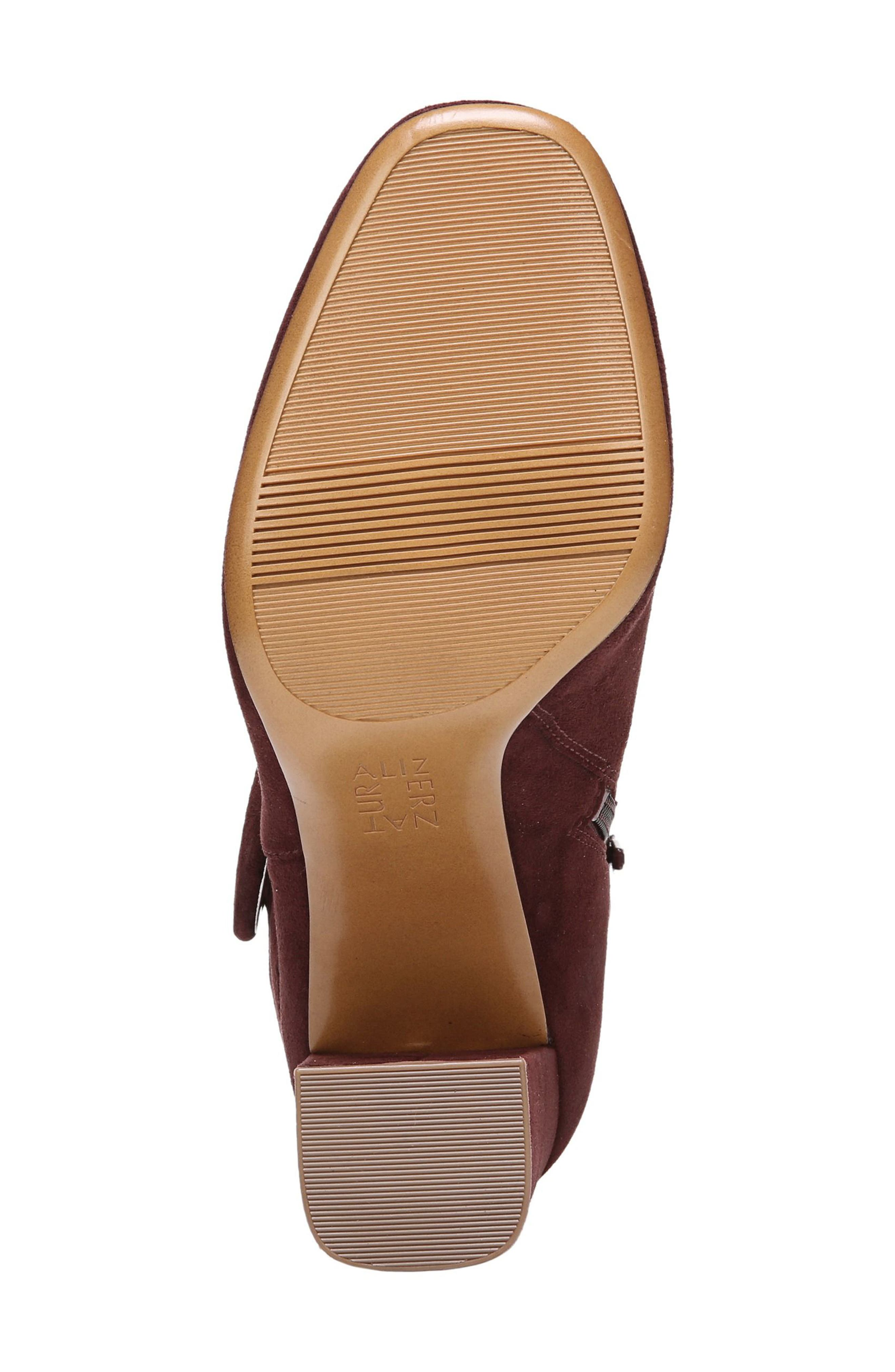 Nautralizer Rae Bootie,                             Alternate thumbnail 6, color,                             Bordo Leather