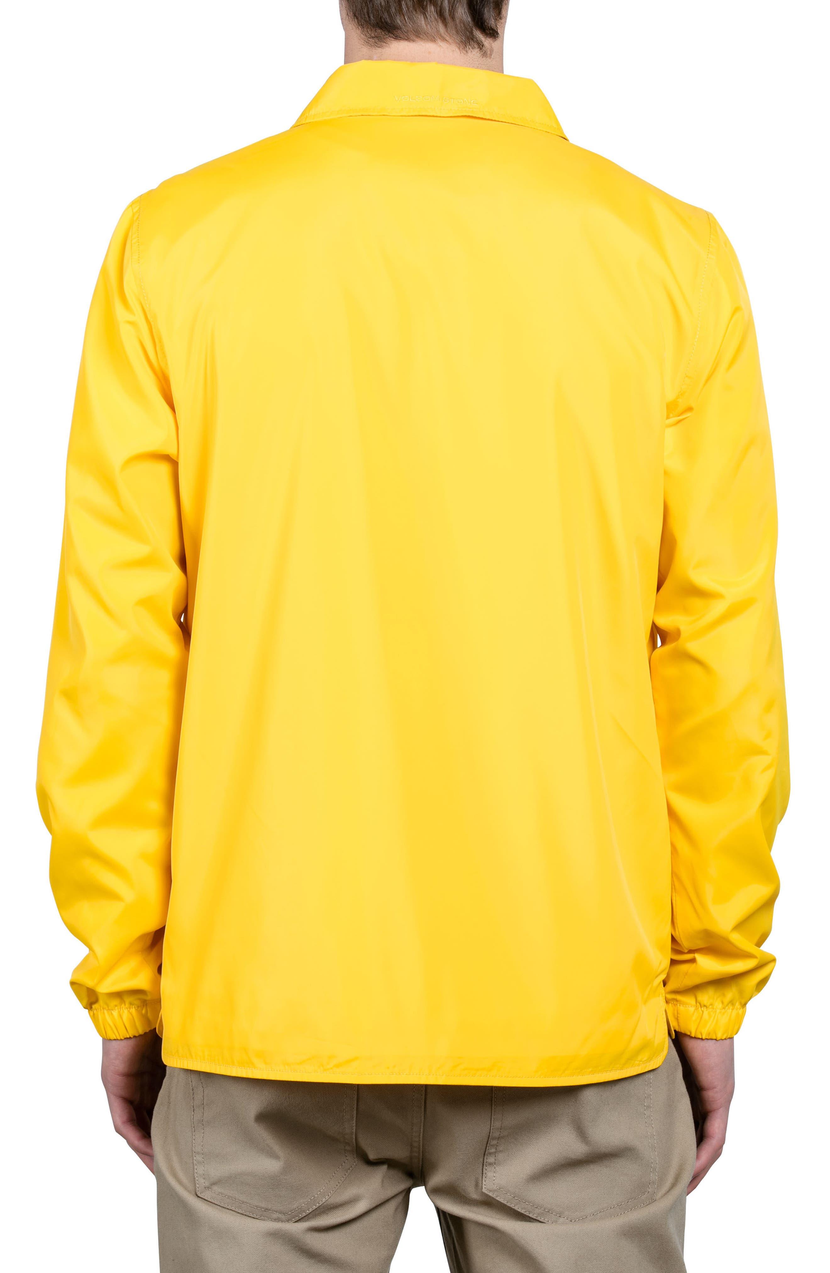 Brews Coach's Jacket,                             Alternate thumbnail 2, color,                             Yellow
